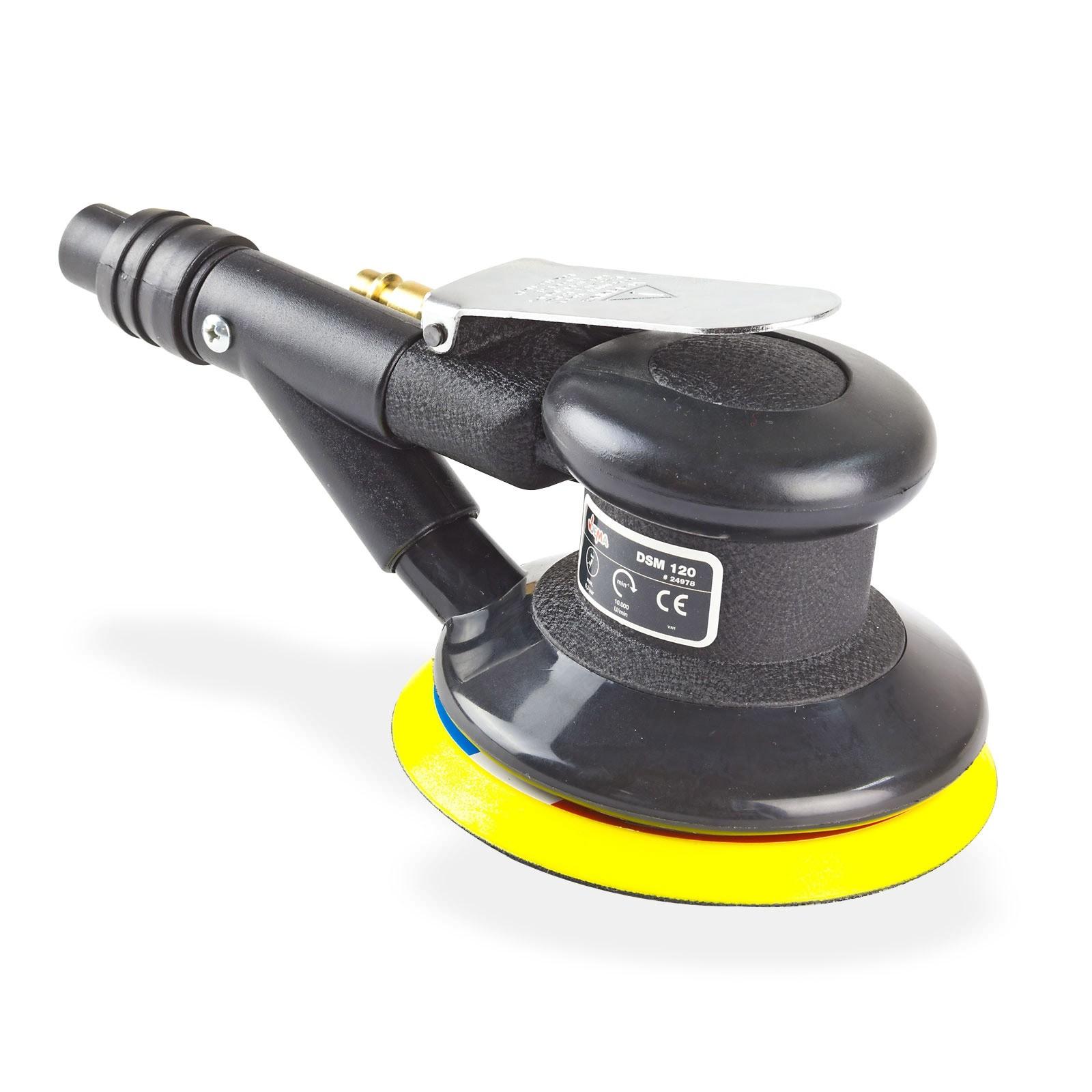druckluft schleifmaschine exzenterschleifer schleifer 120 mit zubeh r ebay. Black Bedroom Furniture Sets. Home Design Ideas
