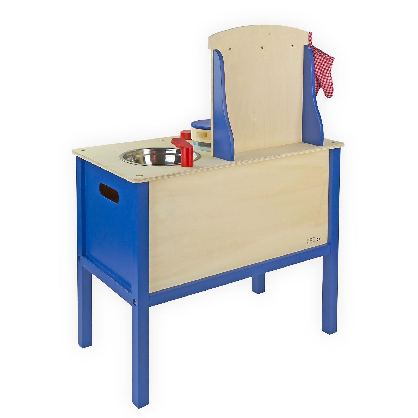 kinderk che aus holz mit zubeh r k che spielk che. Black Bedroom Furniture Sets. Home Design Ideas
