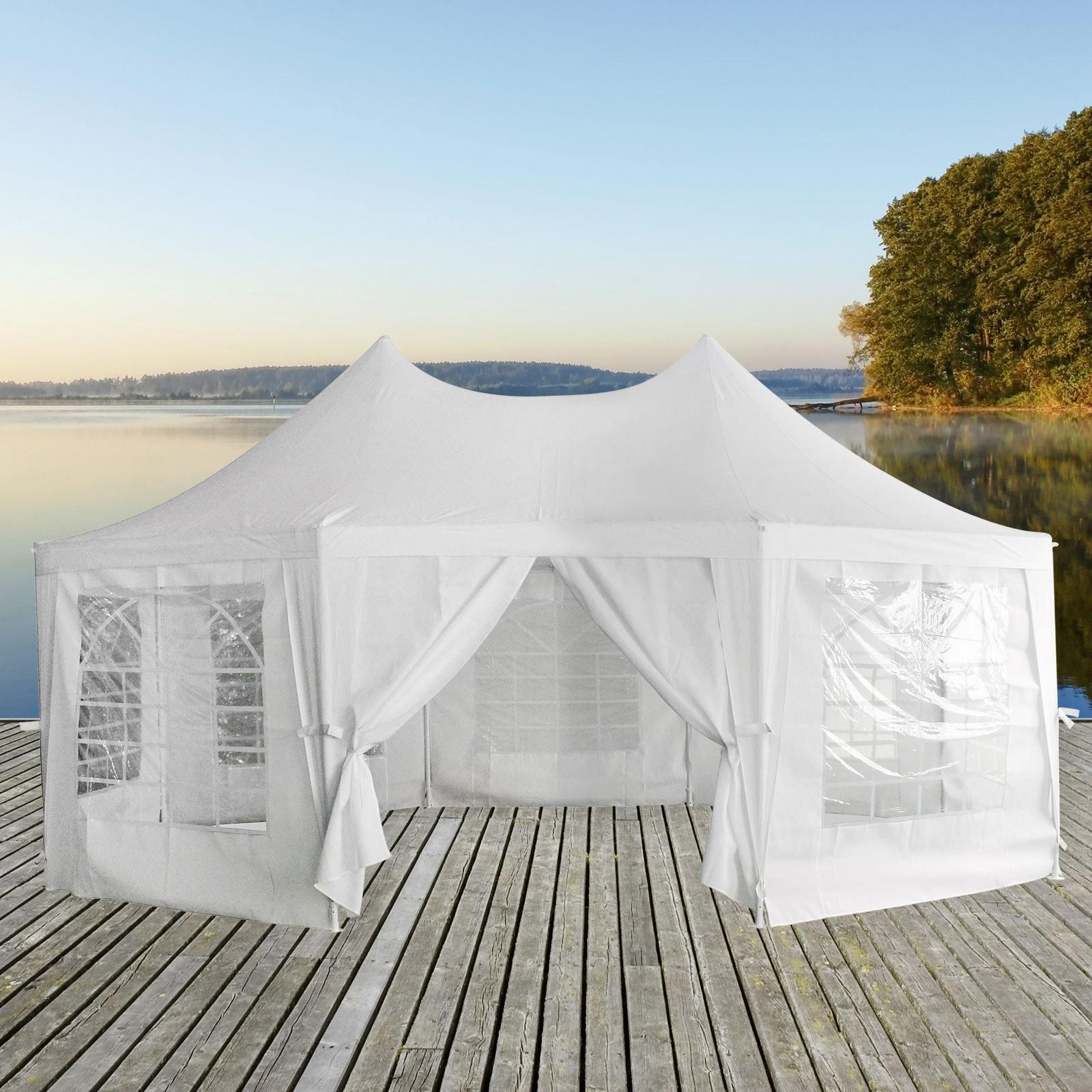 pavillon gartenpavillon abu dhabi 4 5x6 1m gartenzelt. Black Bedroom Furniture Sets. Home Design Ideas