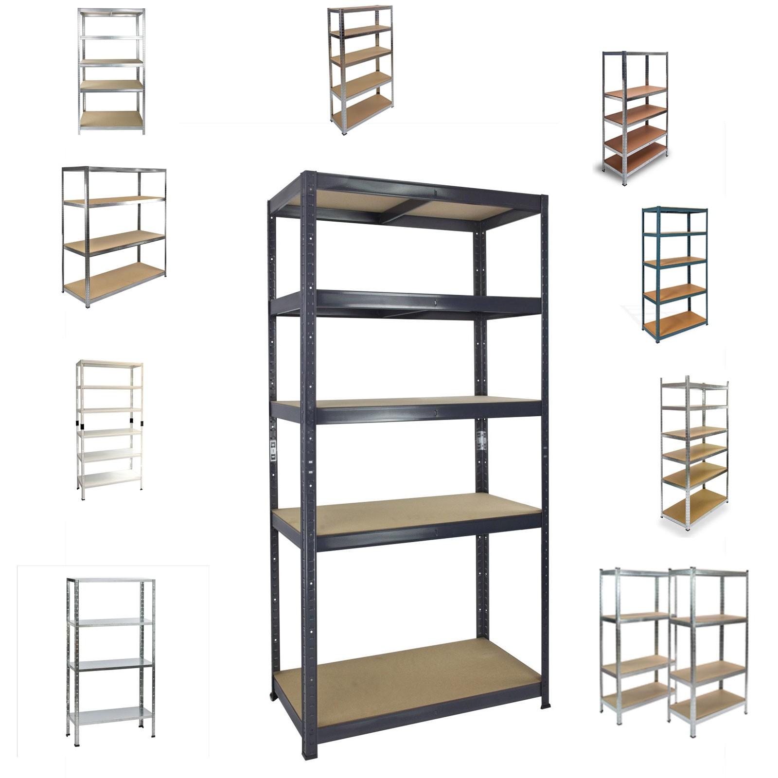 kellerregal steckregal metallregal lagerregal universalregal div modelle auswahl ebay. Black Bedroom Furniture Sets. Home Design Ideas