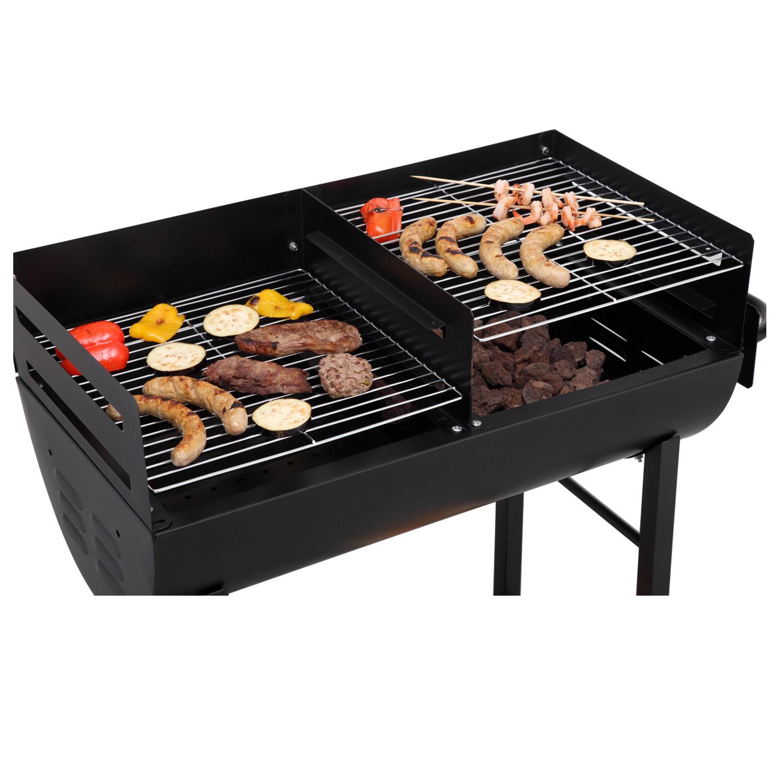 tepro holzkohlengrill grillfass grillwagen kohlengrill lfassgrill grill detroit. Black Bedroom Furniture Sets. Home Design Ideas