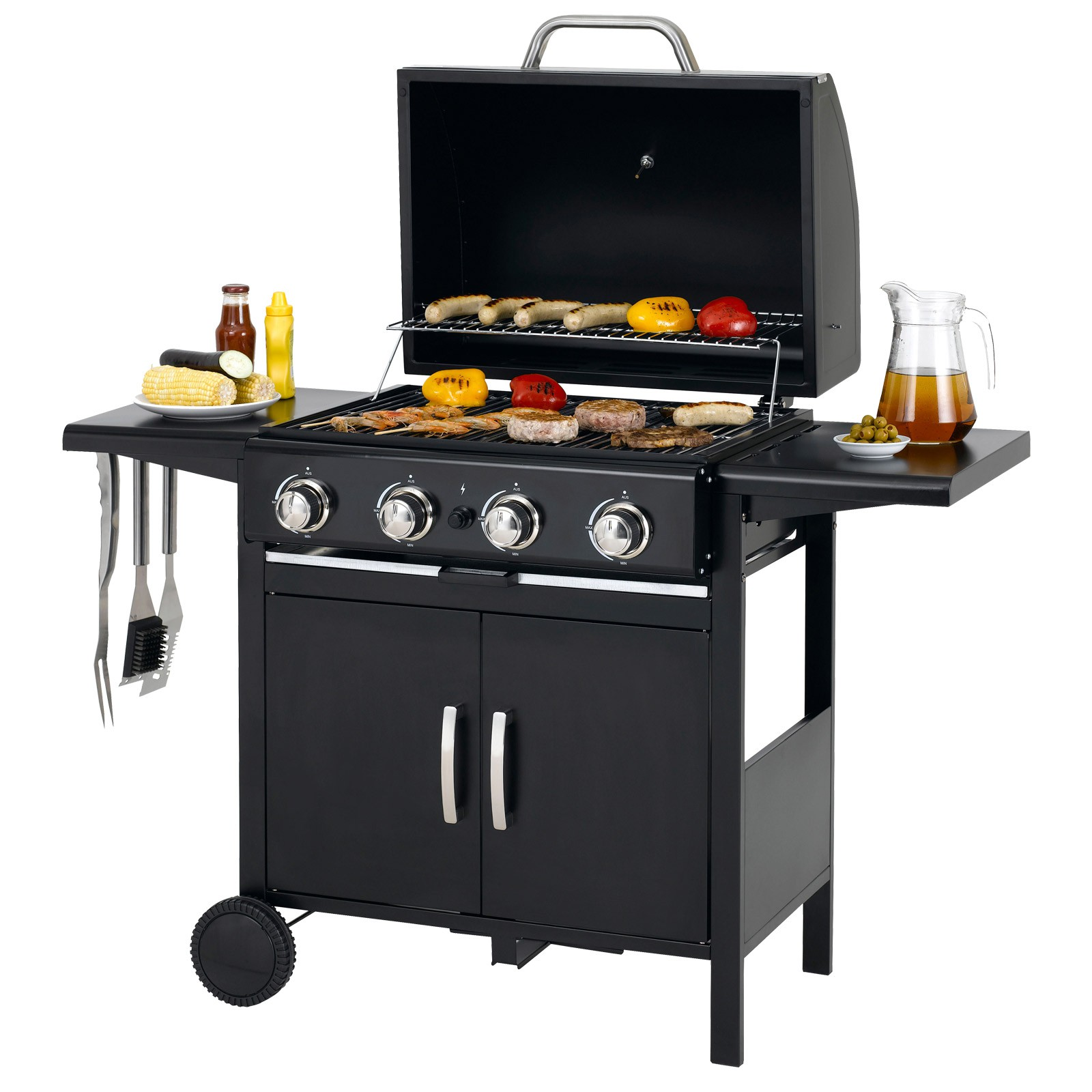 tepro gasgrill bbq grill grillwagen campinggrill barbecue richfield ebay. Black Bedroom Furniture Sets. Home Design Ideas