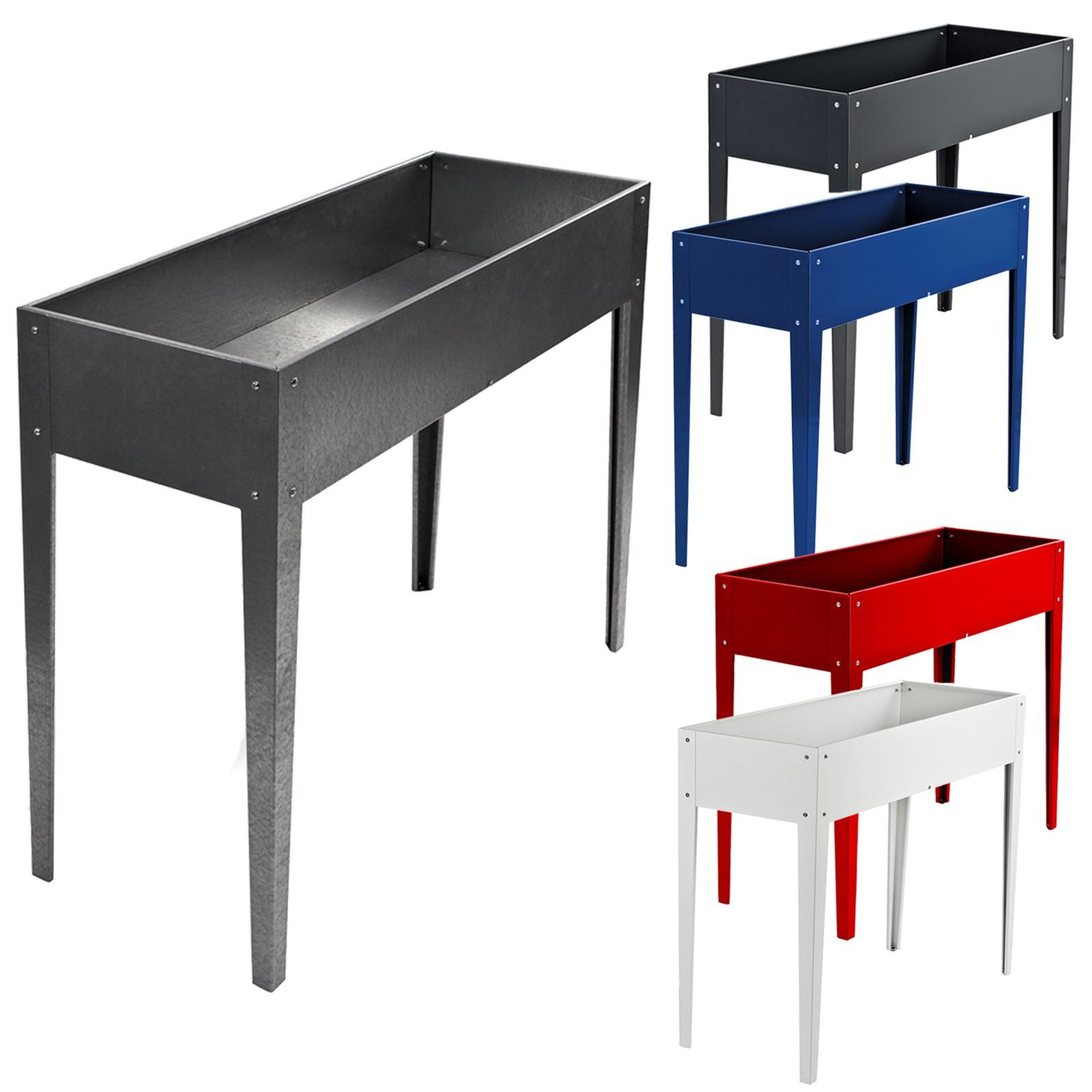 metall hochbeet t bingen gartenbeet gem sebeet pflanzenbeet 100x41x84 5 cm ebay. Black Bedroom Furniture Sets. Home Design Ideas