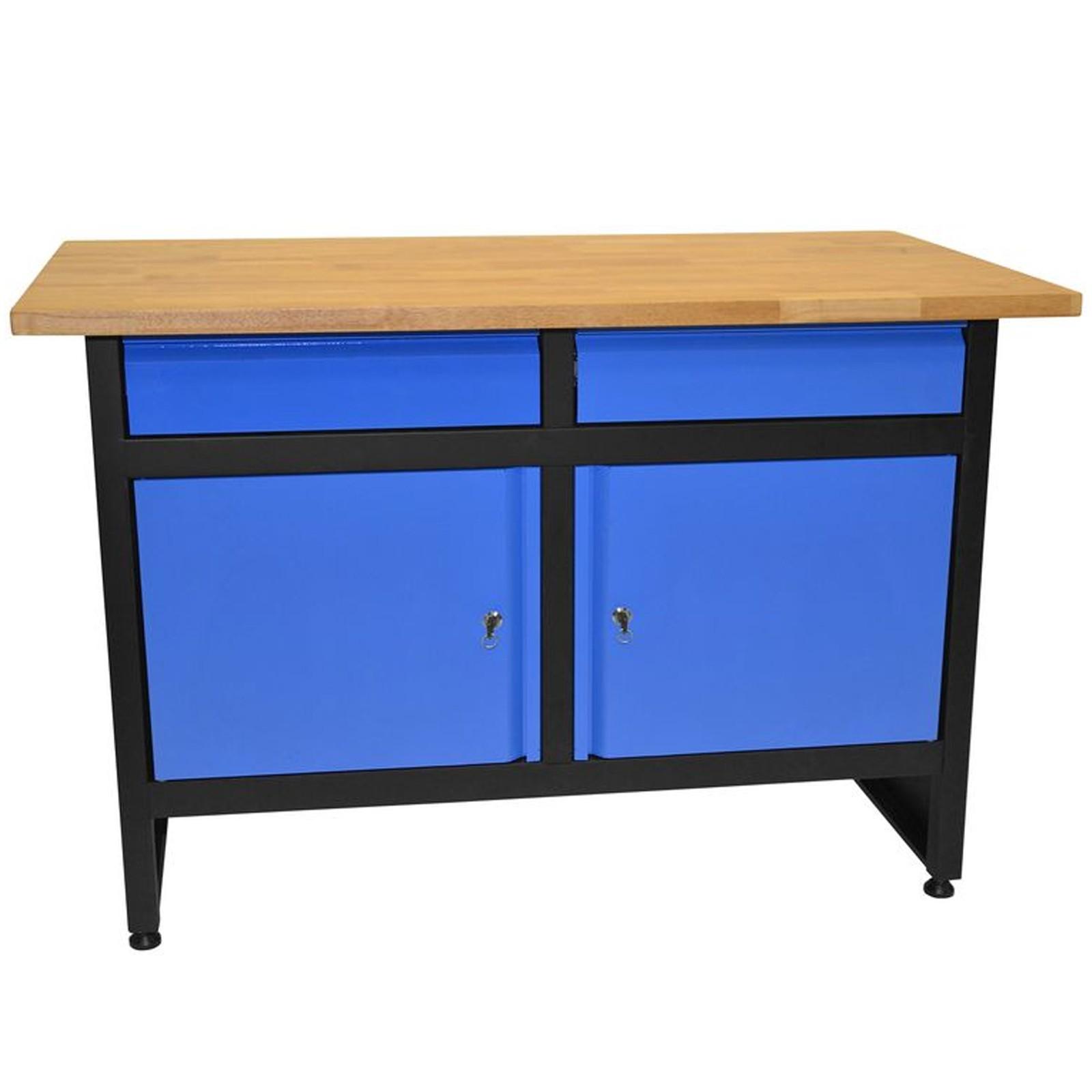 g de werkbank werktisch arbeitstisch werkstattregal arbeitsplatte werkzeugbank ebay. Black Bedroom Furniture Sets. Home Design Ideas