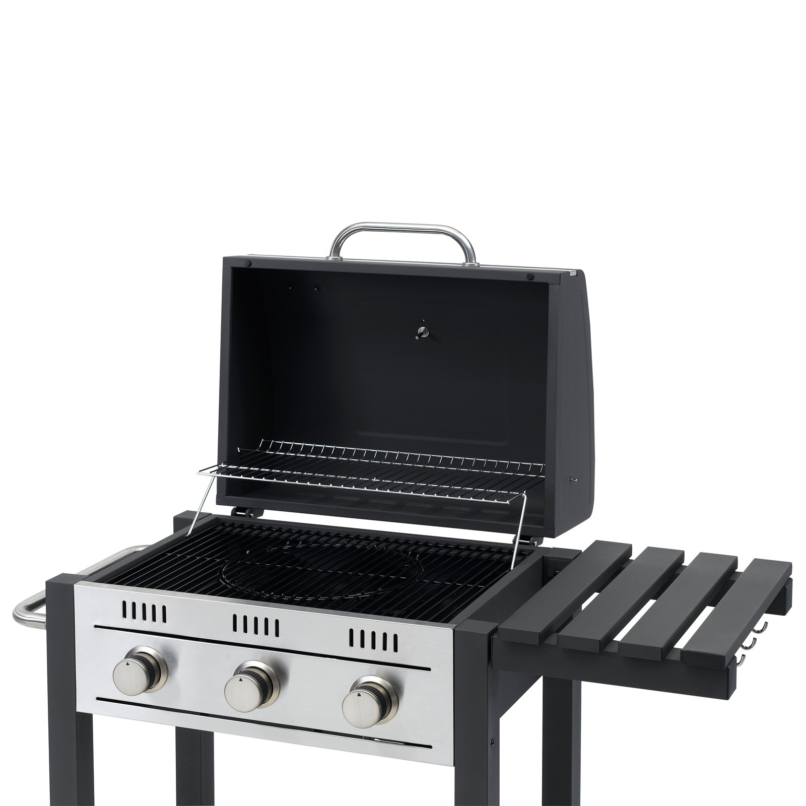 tepro gasgrill grillwagen barbecue gasgrillwagen toronto mit 3 edelstahl brenner ebay. Black Bedroom Furniture Sets. Home Design Ideas