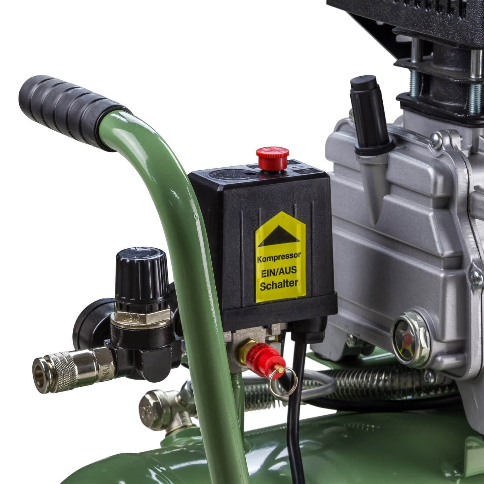 kompressor kolbenkompressor 24 liter mit l. Black Bedroom Furniture Sets. Home Design Ideas