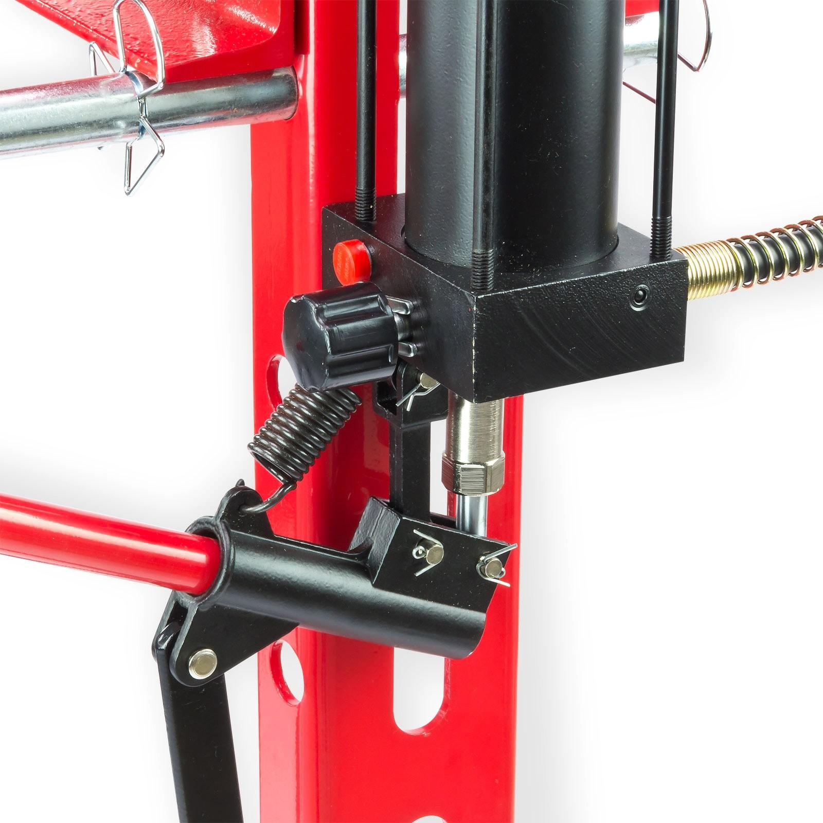 20 tonnen werkstattpresse manuell pedal inkl hydraulikpumpe. Black Bedroom Furniture Sets. Home Design Ideas