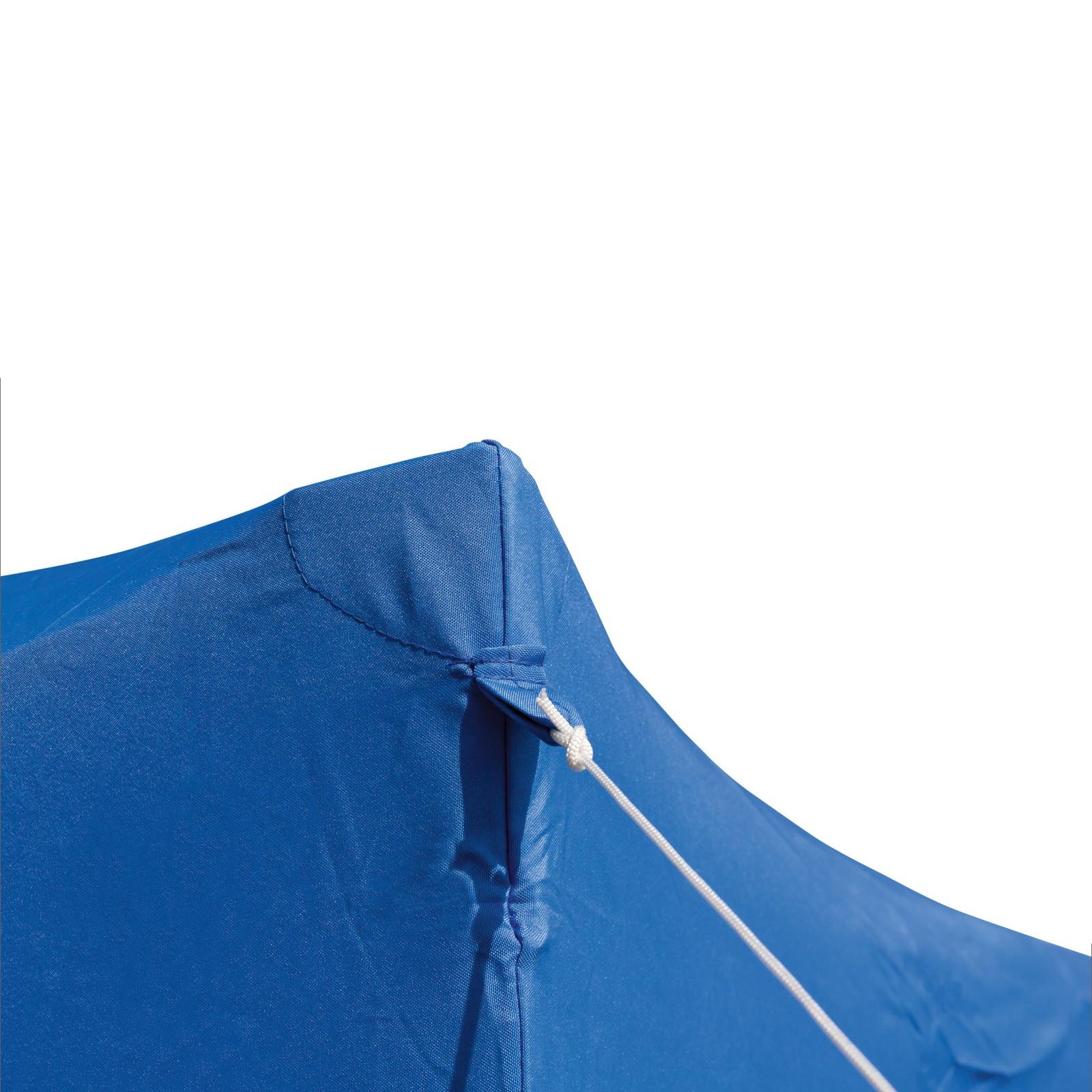 gartenpavillon faltpavillon alu metall 3x3 meter hellblau gartenzelt partyzelt ebay. Black Bedroom Furniture Sets. Home Design Ideas
