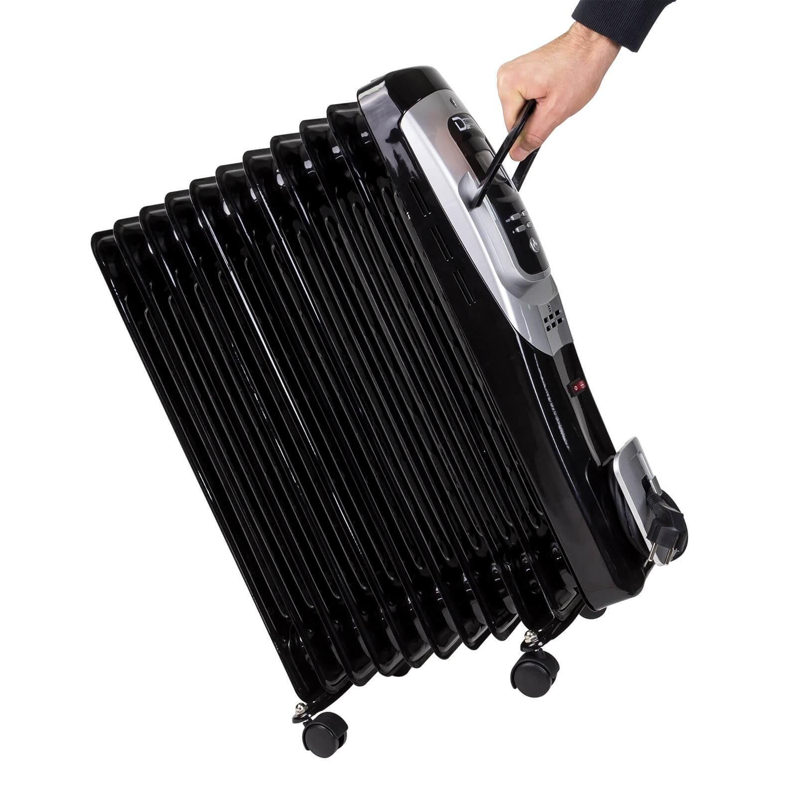 lradiator elektroheizung elektroheizk rper heizk rper heizer 11 rippen 2500 w ebay. Black Bedroom Furniture Sets. Home Design Ideas