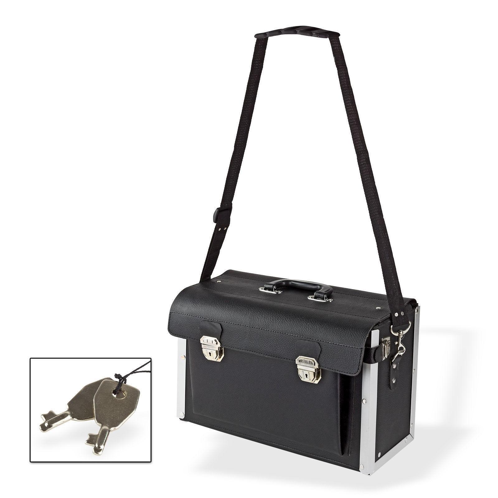 profi werkzeugkoffer werkzeugtasche hochwertig aus leder. Black Bedroom Furniture Sets. Home Design Ideas