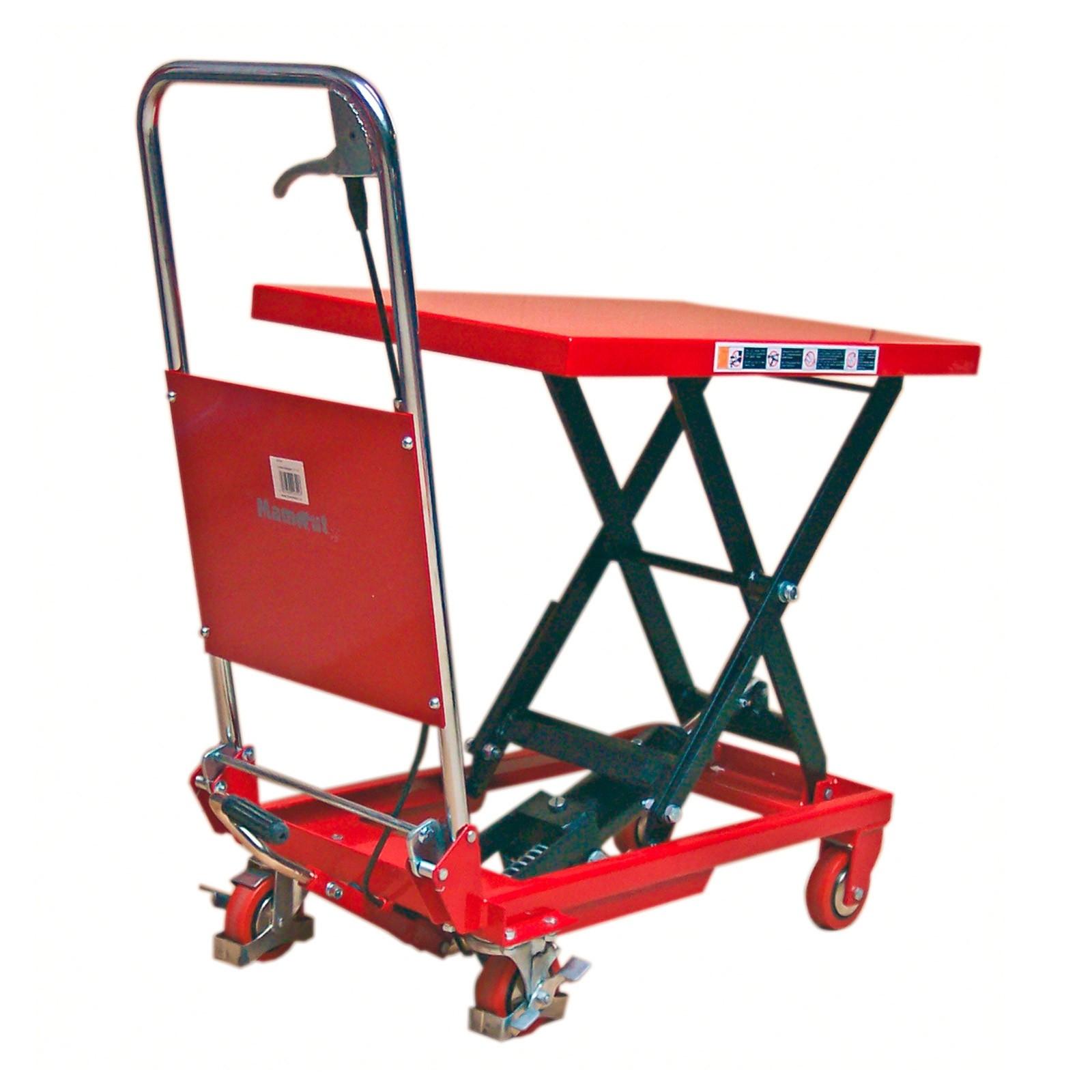hydraulischer hubtischwagen hubwagen htw150 bis 150kg. Black Bedroom Furniture Sets. Home Design Ideas