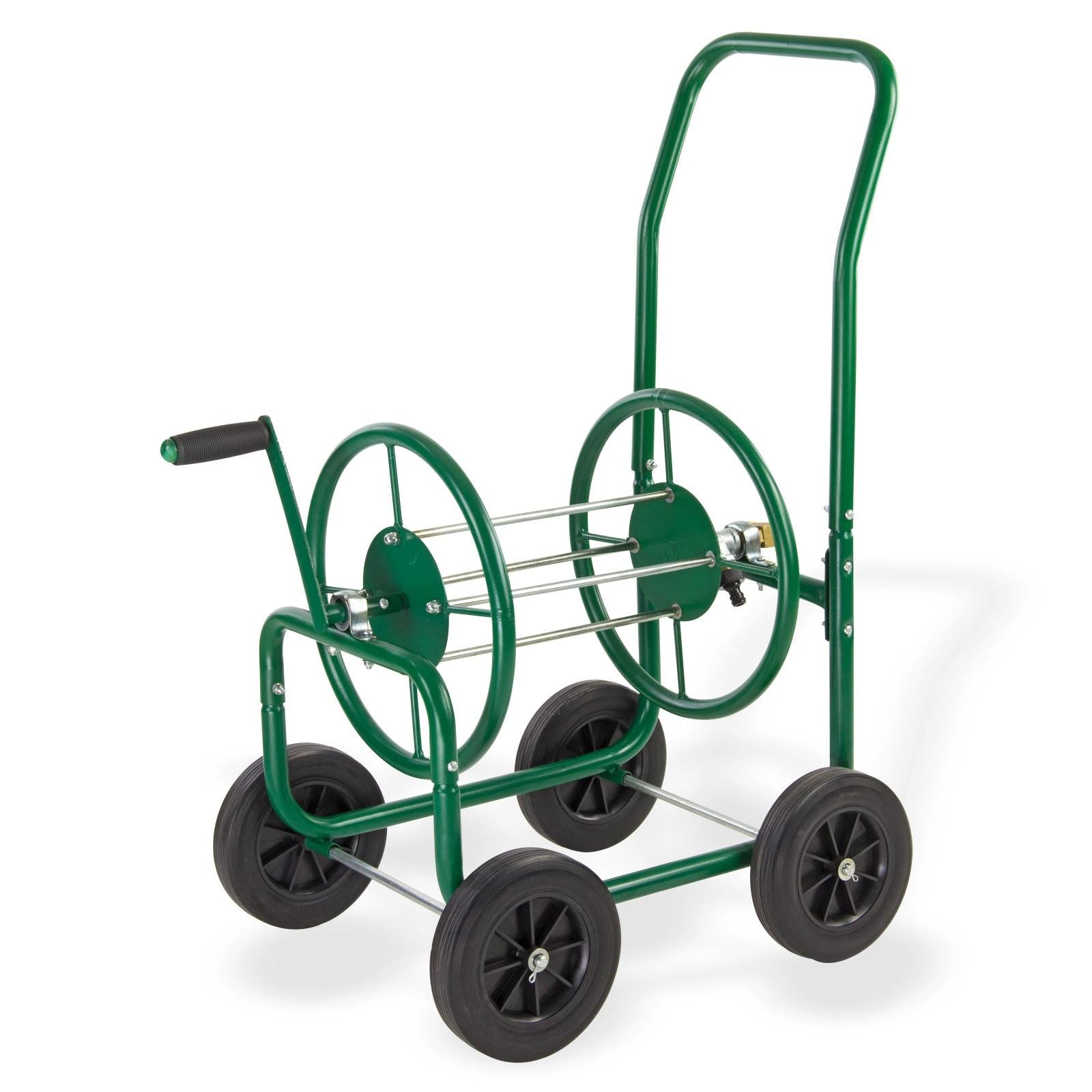 metall schlauchwagen schlauchaufroller xl sw90 ohne gartenschlauch. Black Bedroom Furniture Sets. Home Design Ideas