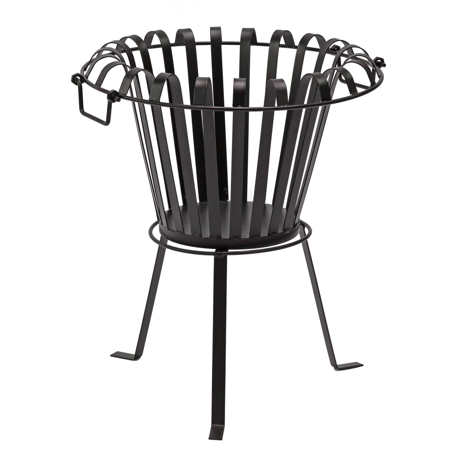 feuerkorb feuerstelle bilbao 3 kg 54 cm hoch aus metall. Black Bedroom Furniture Sets. Home Design Ideas