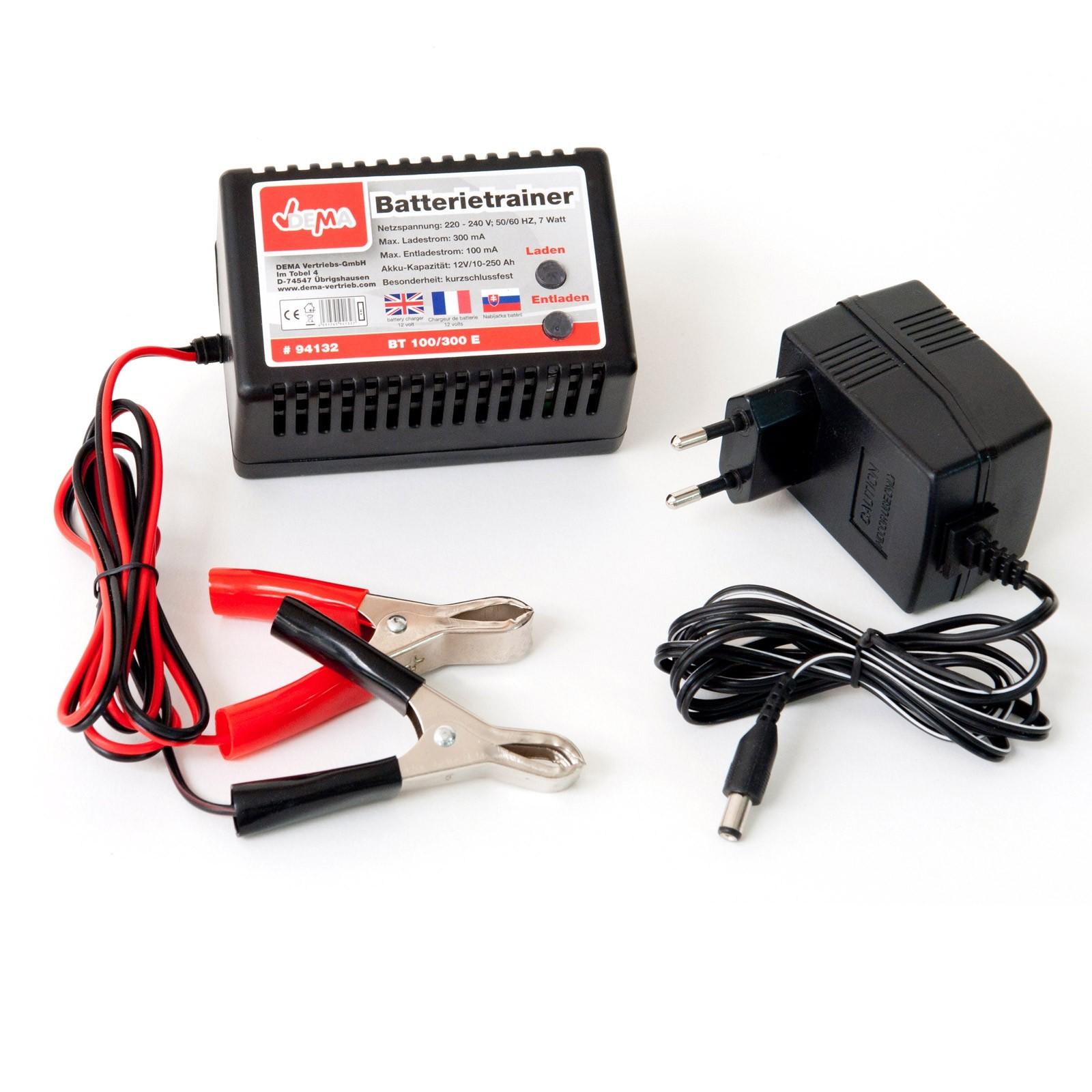 kfz batterietrainer batterielader f r 12 volt batterien. Black Bedroom Furniture Sets. Home Design Ideas