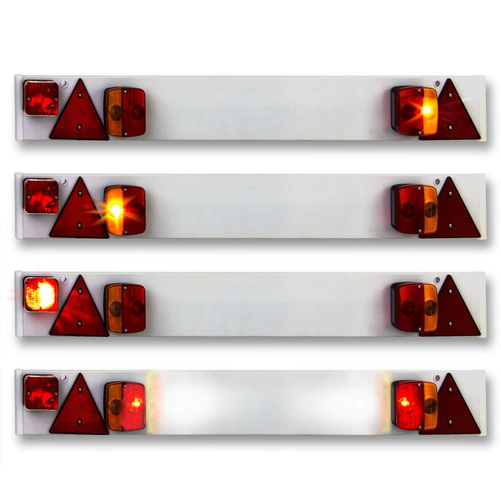 Anhängerbeleuchtung 122cm 7-pol 12V Rückleuchten Rücklicht ...