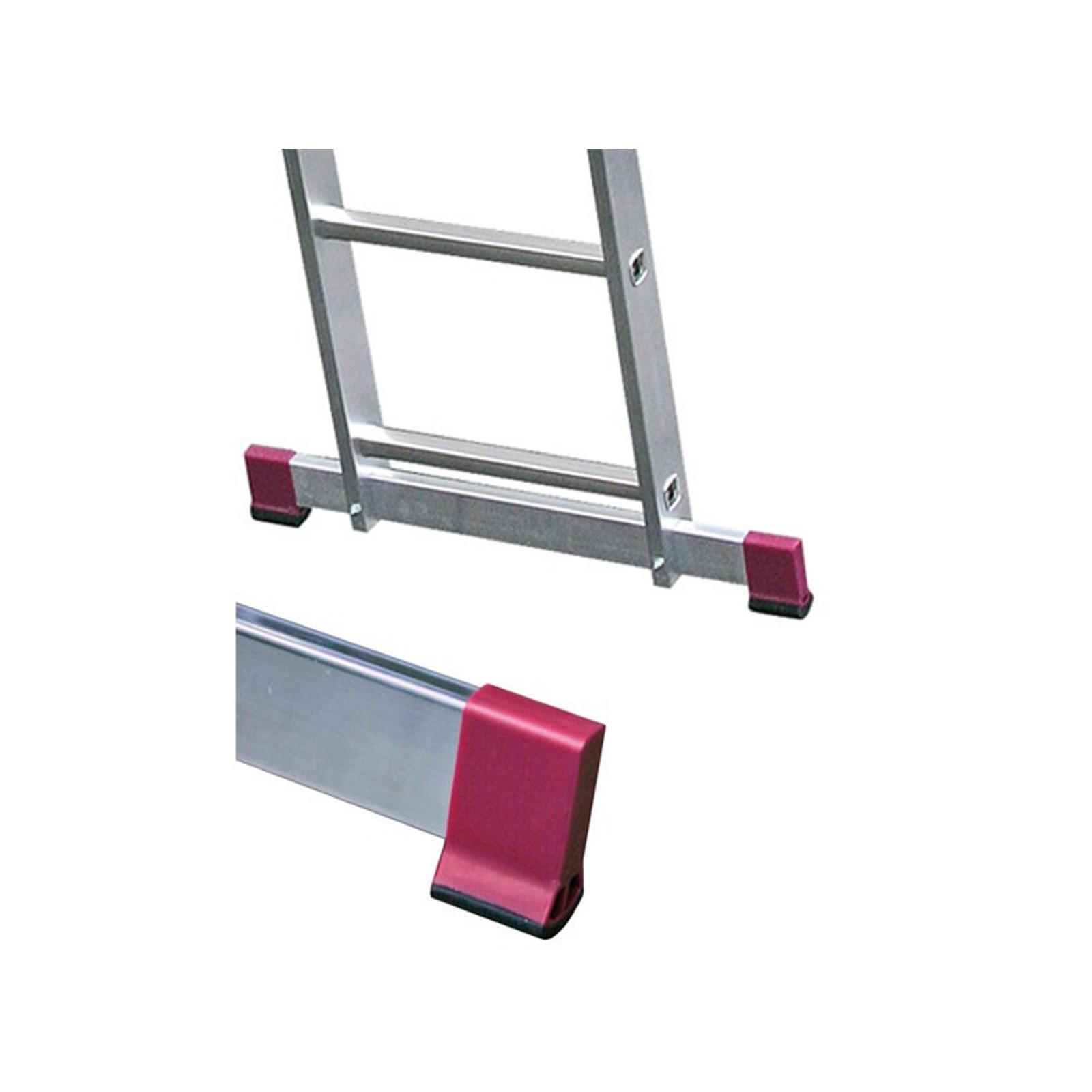 krause corda alu vielzweckleiter sprossenleiter 3x 11 tritte sprossen l 645 cm ebay. Black Bedroom Furniture Sets. Home Design Ideas