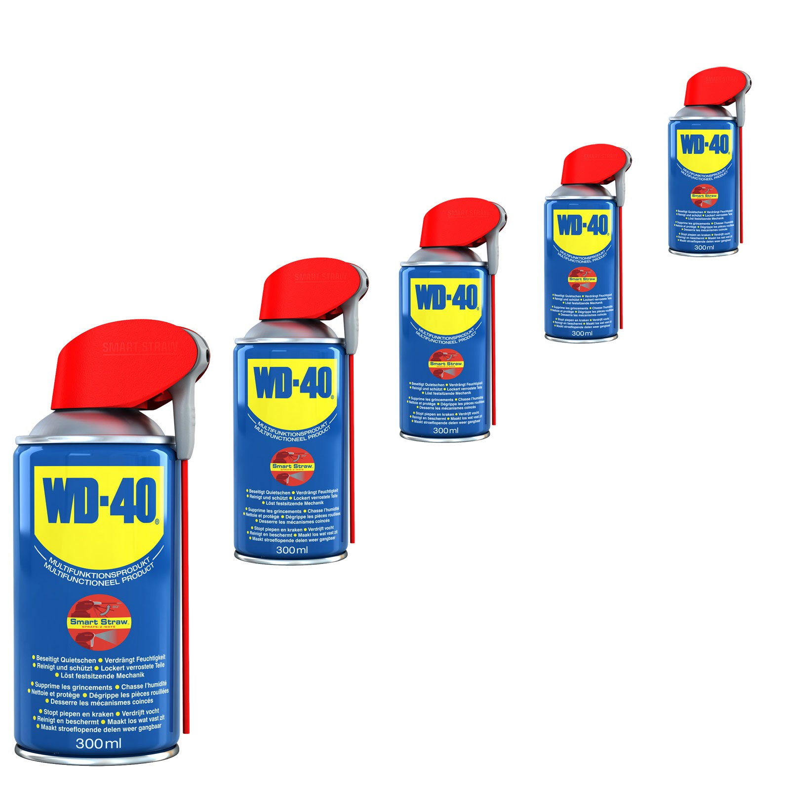 wd 40 vielzweckspray smartstraw 5x 300 ml rostl ser. Black Bedroom Furniture Sets. Home Design Ideas