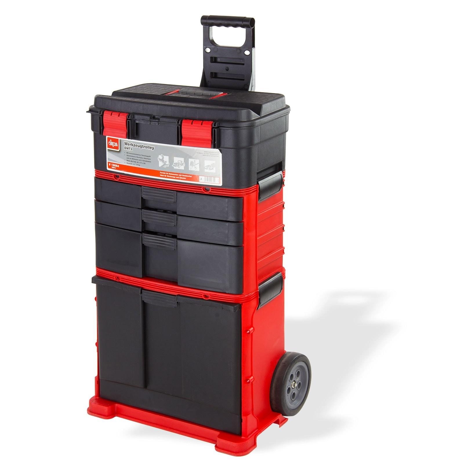 werkzeugkoffer werkzeugtrolley dwt3 3 koffer. Black Bedroom Furniture Sets. Home Design Ideas
