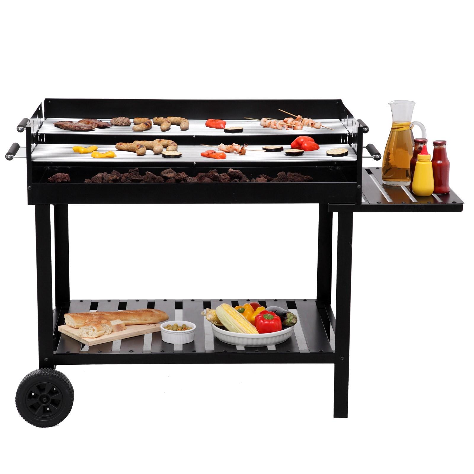 tepro holzkohlengrill kohlegrill bbq grill kohle grillwagen atlanta 4011964029910 ebay. Black Bedroom Furniture Sets. Home Design Ideas