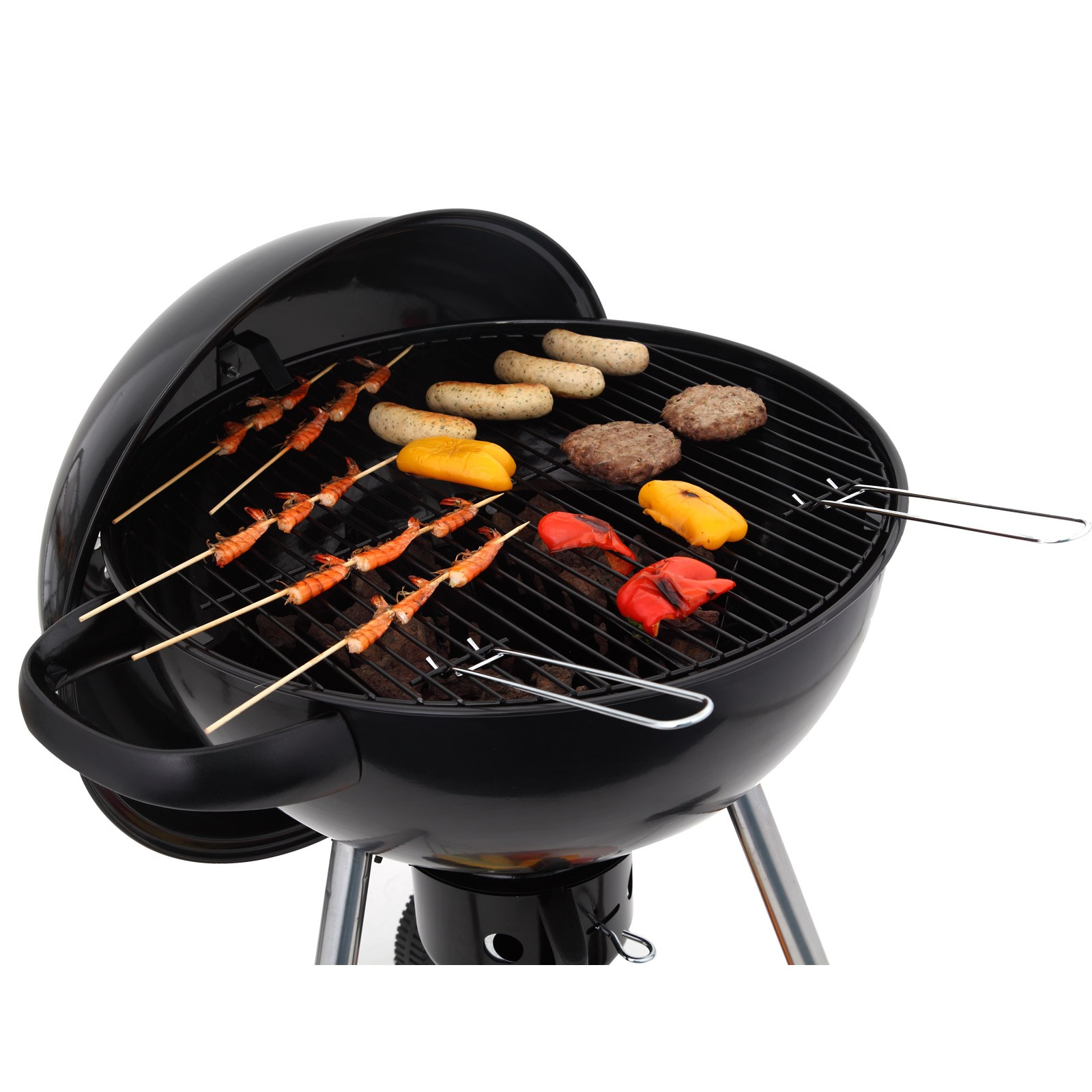 tepro holzkohlengrill kugelgrill tucson bbq grill grillwagen camping kohlegrill 4011964108516 ebay. Black Bedroom Furniture Sets. Home Design Ideas