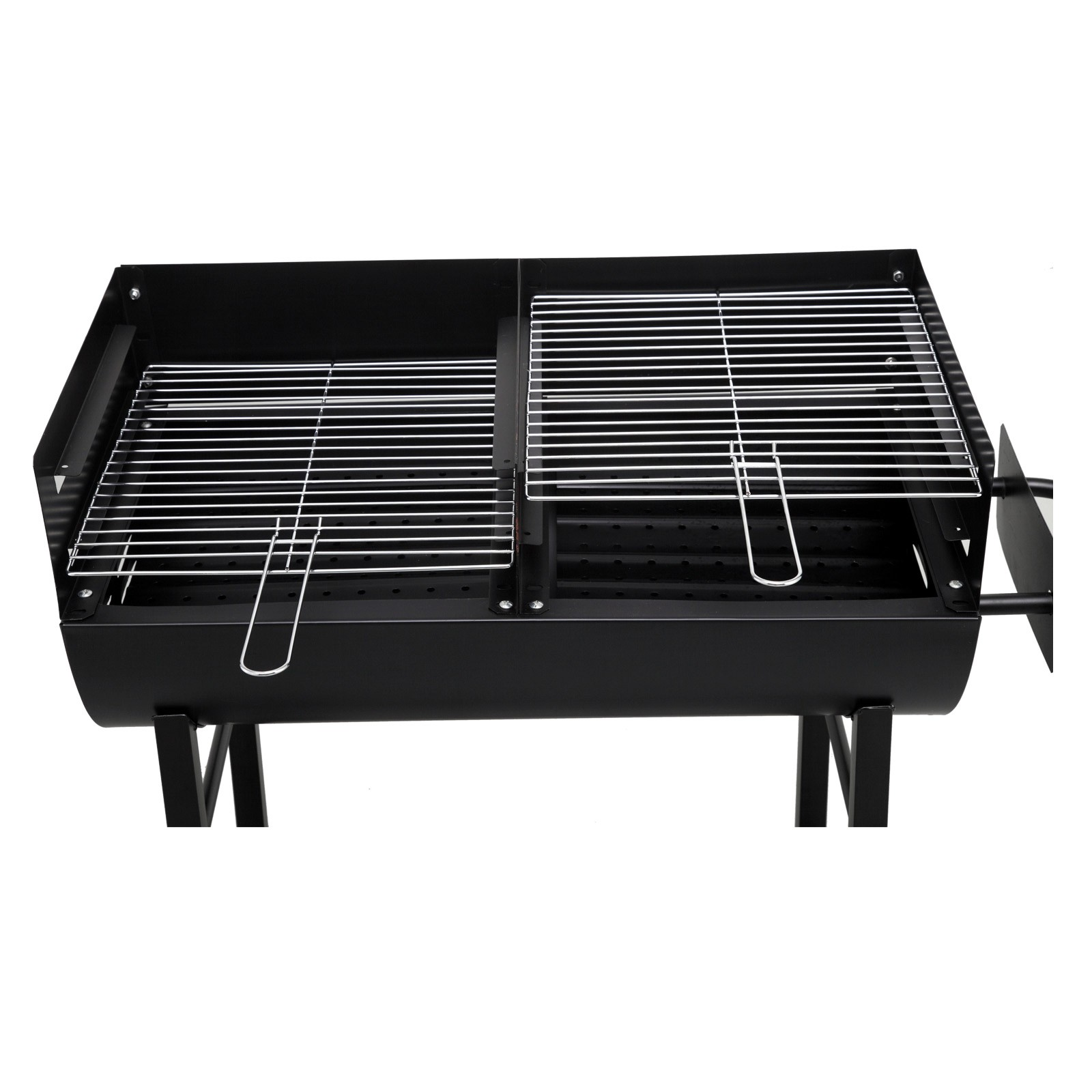 tepro holzkohlengrill grillfass grillwagen kohlengrill lfassgrill grill detroit ebay. Black Bedroom Furniture Sets. Home Design Ideas