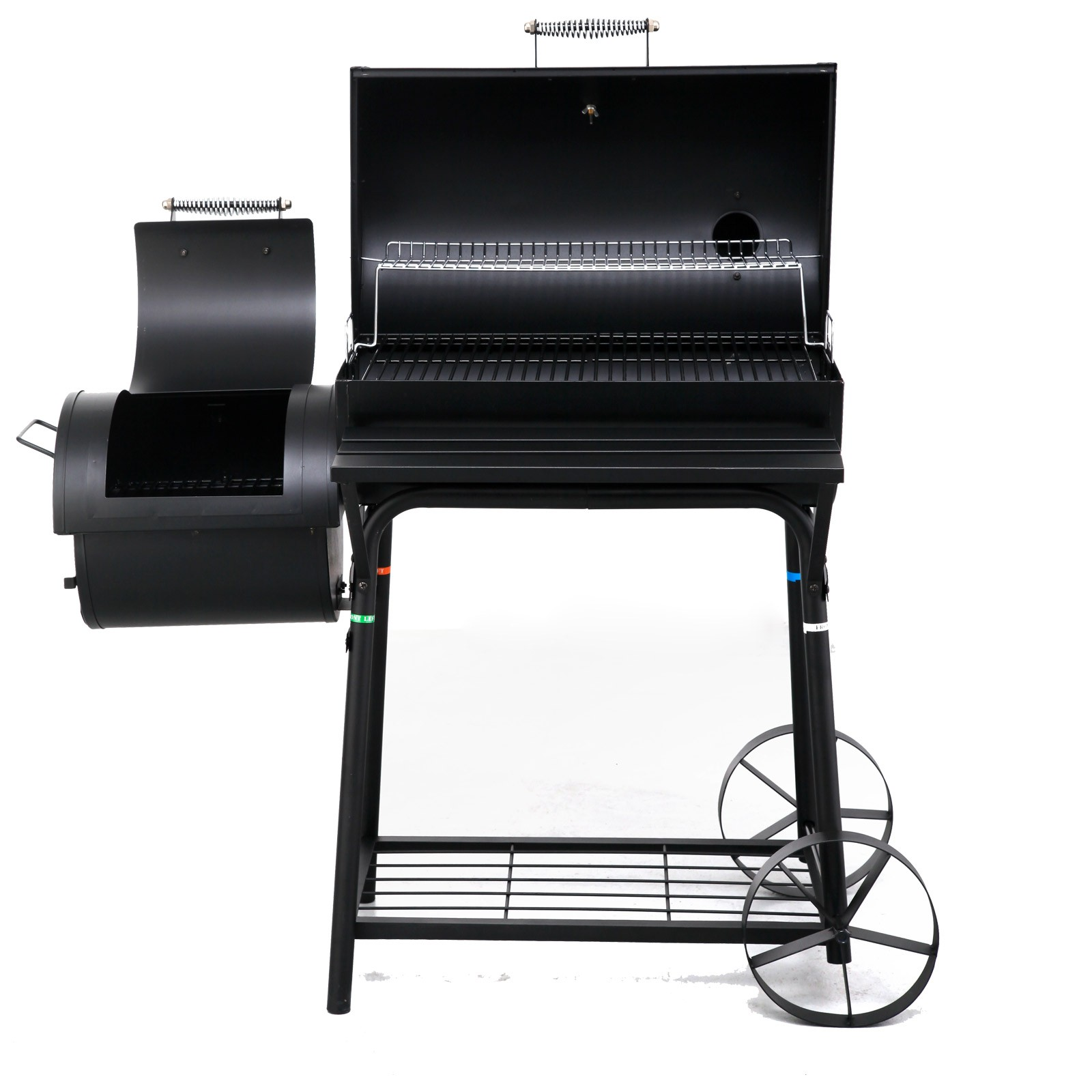 tepro smoker bbq grill biloxi grillwagen grill holzkohlengrill kohlengrill ebay. Black Bedroom Furniture Sets. Home Design Ideas