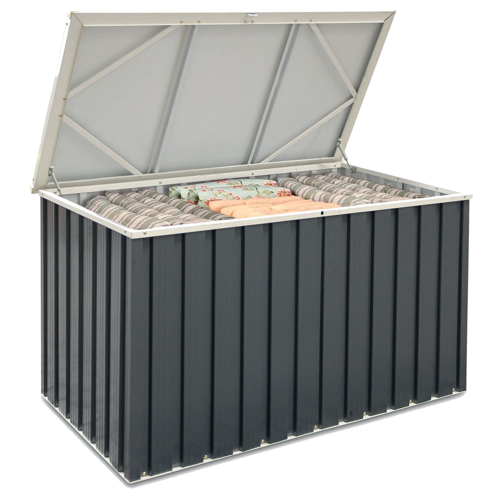 keter metall ger tebox auflagenbox 135 x 70. Black Bedroom Furniture Sets. Home Design Ideas
