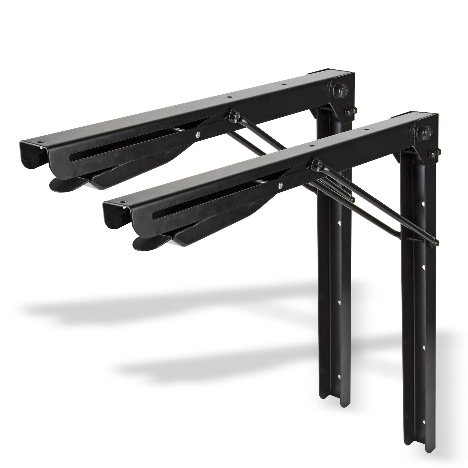 wandkonsole wandtisch klappbar 2er set. Black Bedroom Furniture Sets. Home Design Ideas