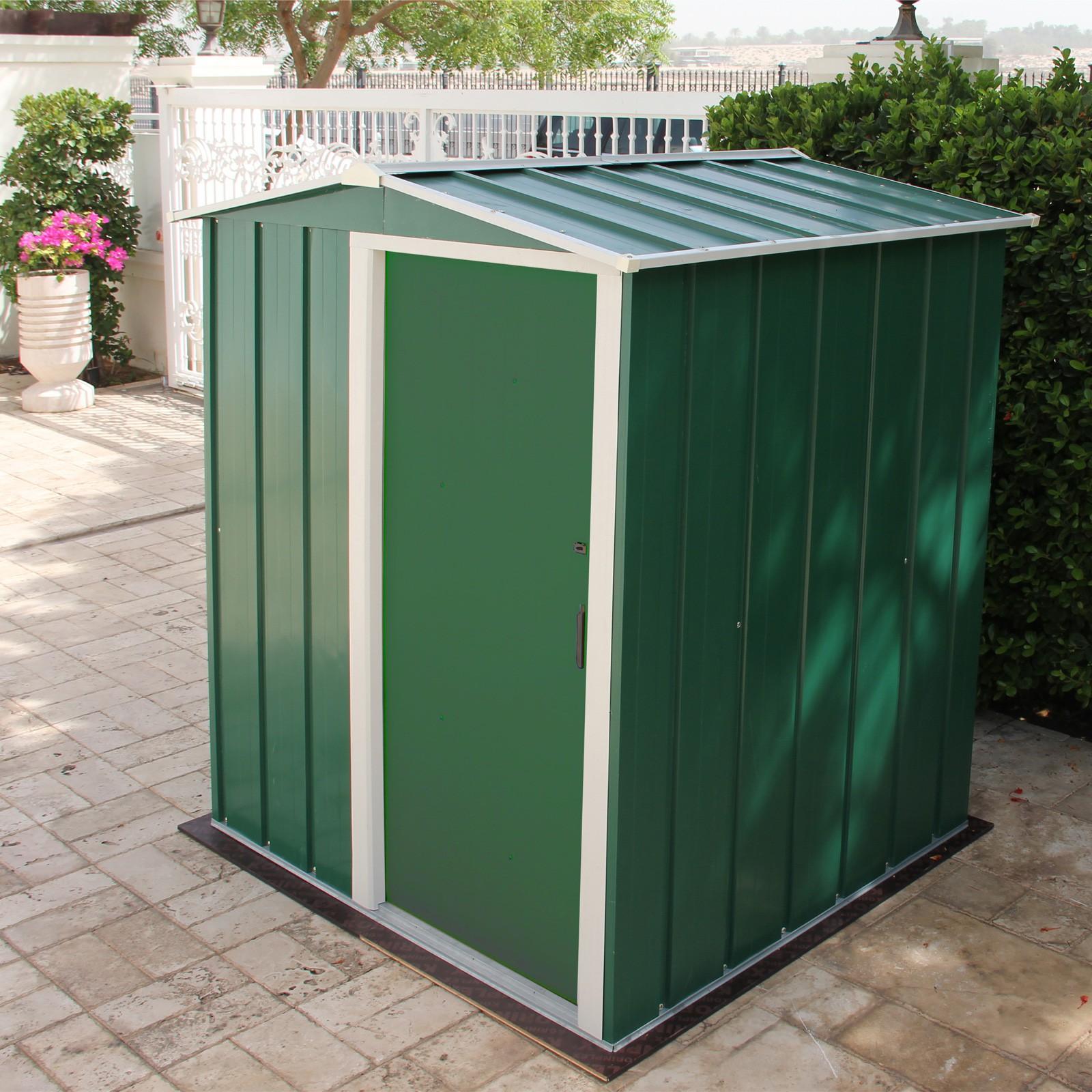 tepro metall ger tehaus eco 5x4 gartenhaus ger teschuppen. Black Bedroom Furniture Sets. Home Design Ideas