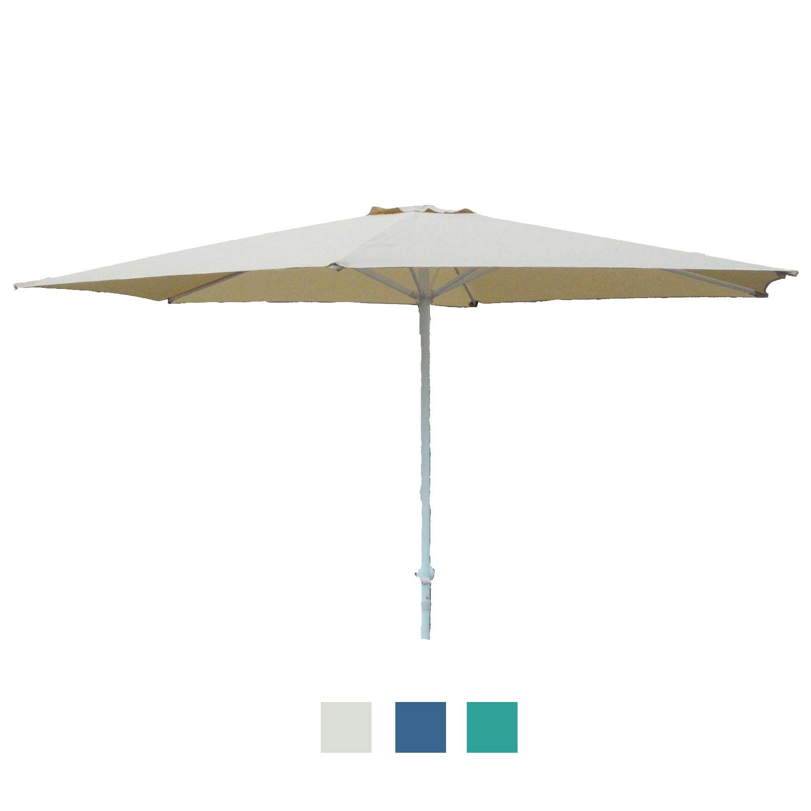 marktschirm sonnenschirm 300 cm mit kurbel gartenschirm schirm sonnenschutz ebay. Black Bedroom Furniture Sets. Home Design Ideas