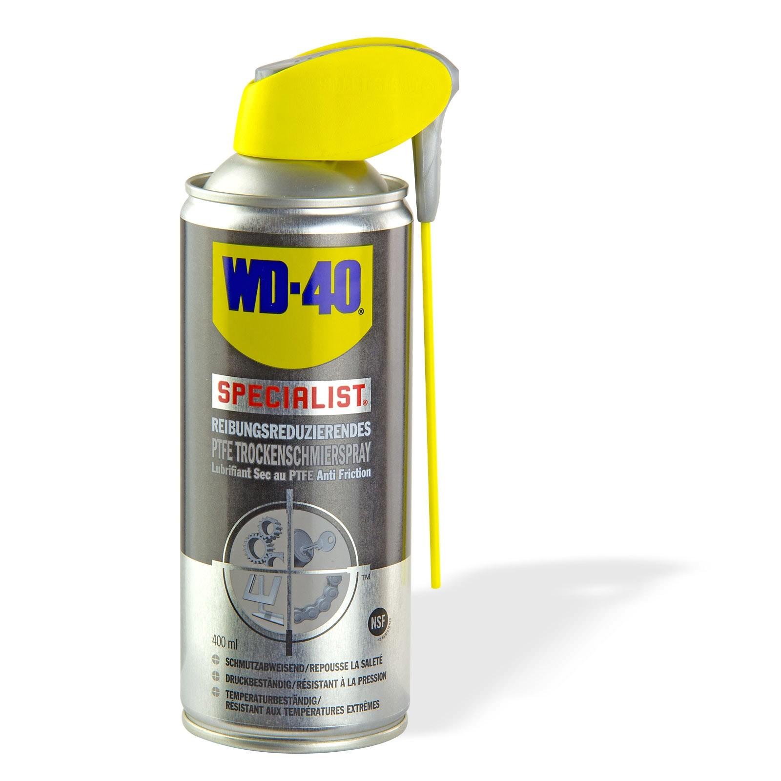 WD-40 PTFE Spray / Trocken- Gleitmittel Schmiermittel 400 ml