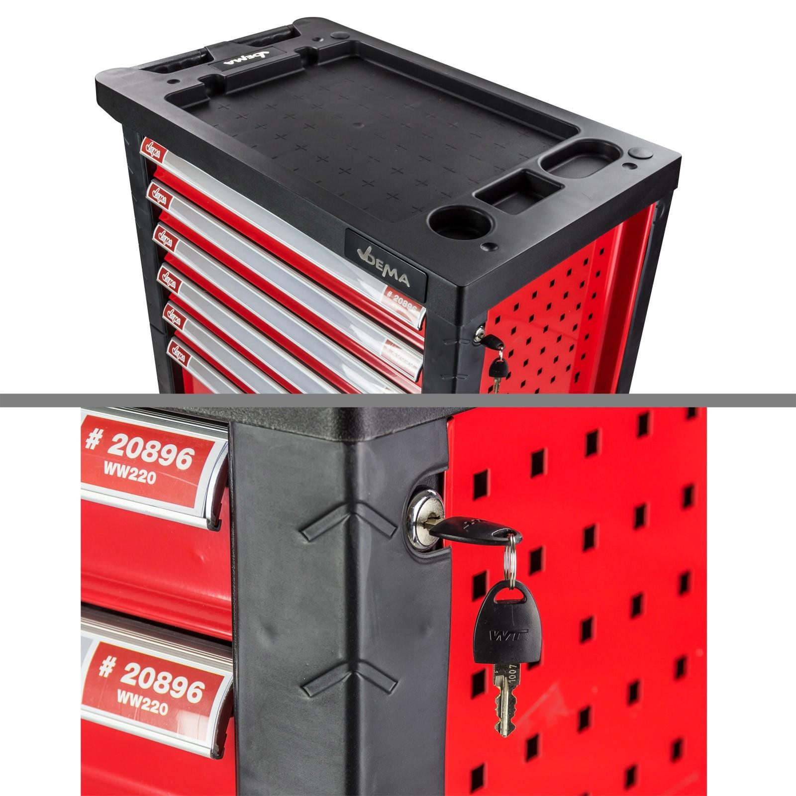 werkstattwagen werkzeugwagen best ckt mit werkzeug 220. Black Bedroom Furniture Sets. Home Design Ideas