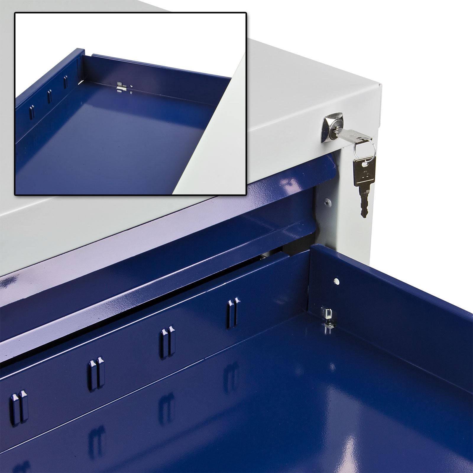 Werkzeugschrank Werkstattschrank Schubladenschrank 7 Schubladen ...