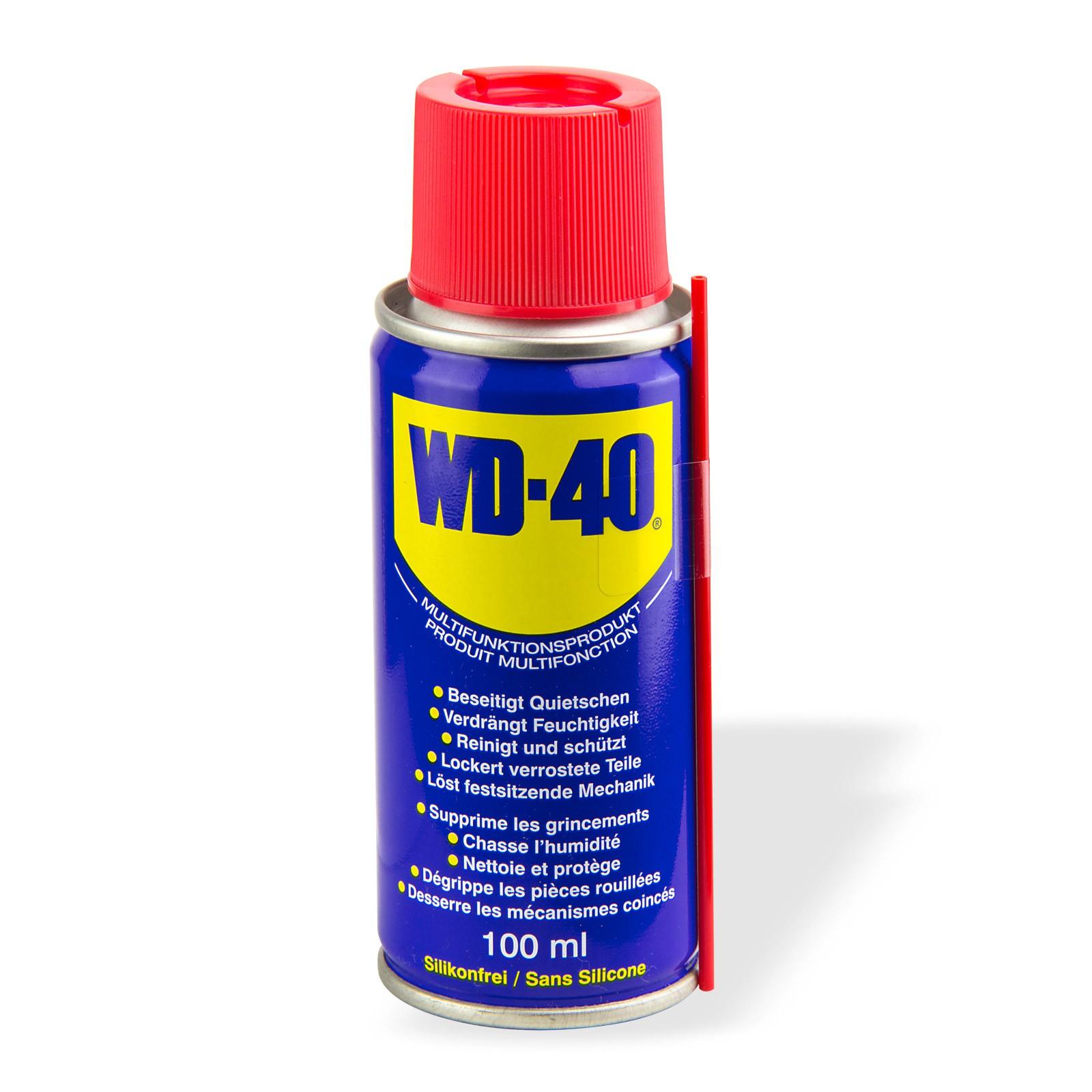 wd 40 vielzweckspray multifunktions spray 100 ml rostl ser reinigungsspray ebay. Black Bedroom Furniture Sets. Home Design Ideas
