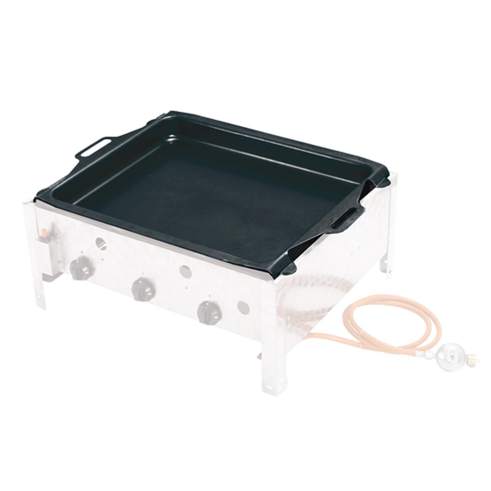 tepro grillpfanne emailliert f r gasbr ter 55 5 x 46 cm. Black Bedroom Furniture Sets. Home Design Ideas
