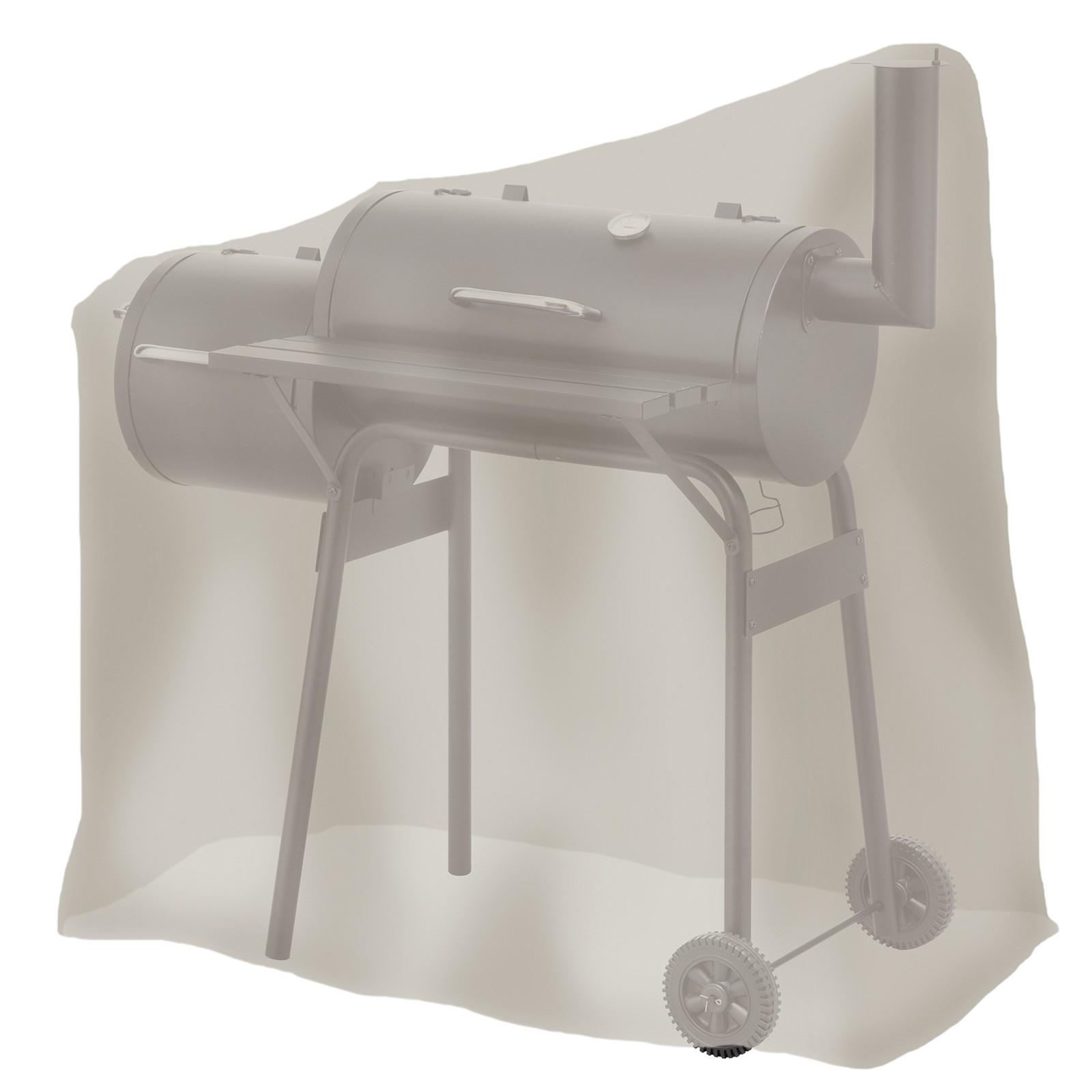 tepro universal abdeckhaube f r smoker polyester schutzh lle abdeckplane klein ebay. Black Bedroom Furniture Sets. Home Design Ideas