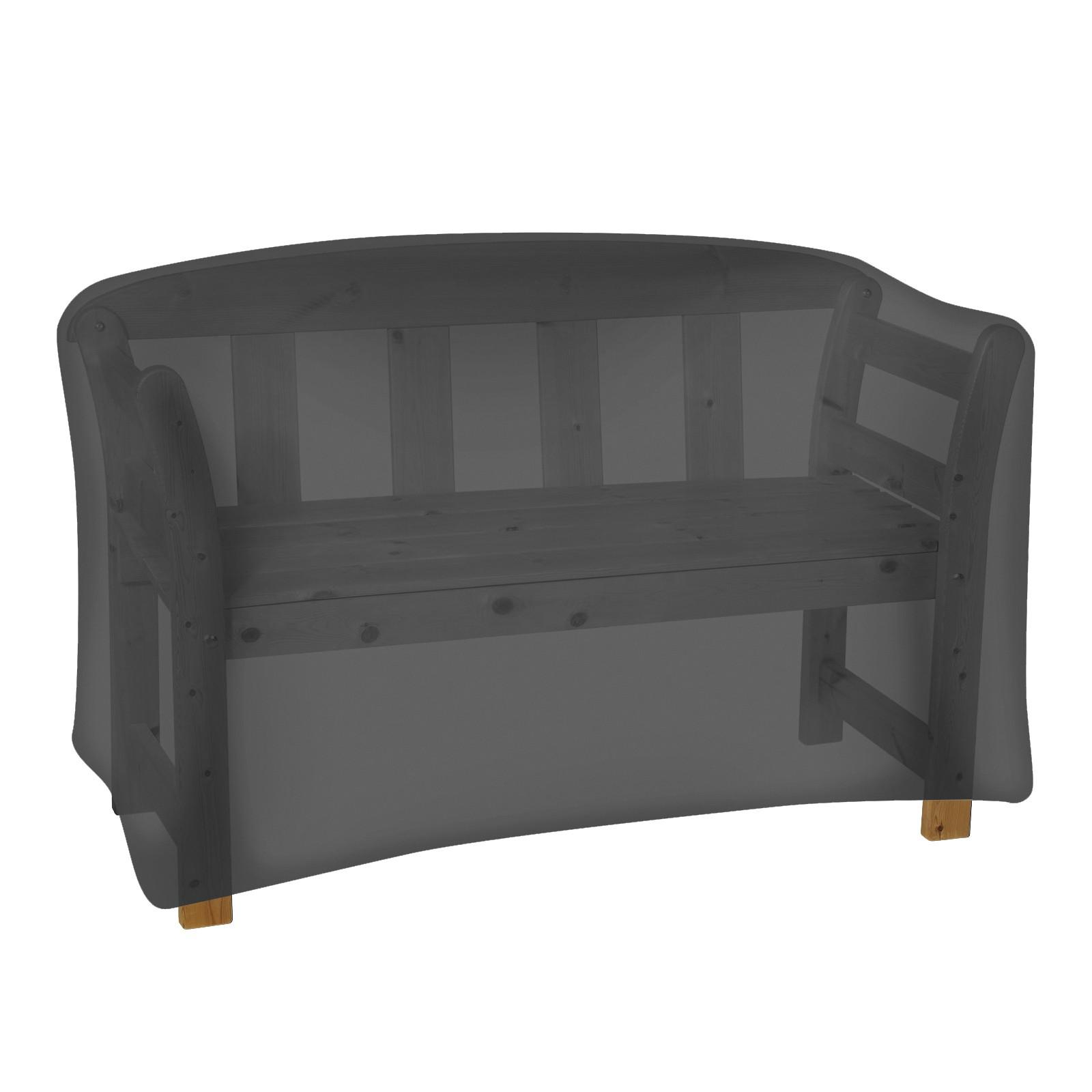 tepro abdeckhaube gartenbank 3 sitzer schwarz. Black Bedroom Furniture Sets. Home Design Ideas