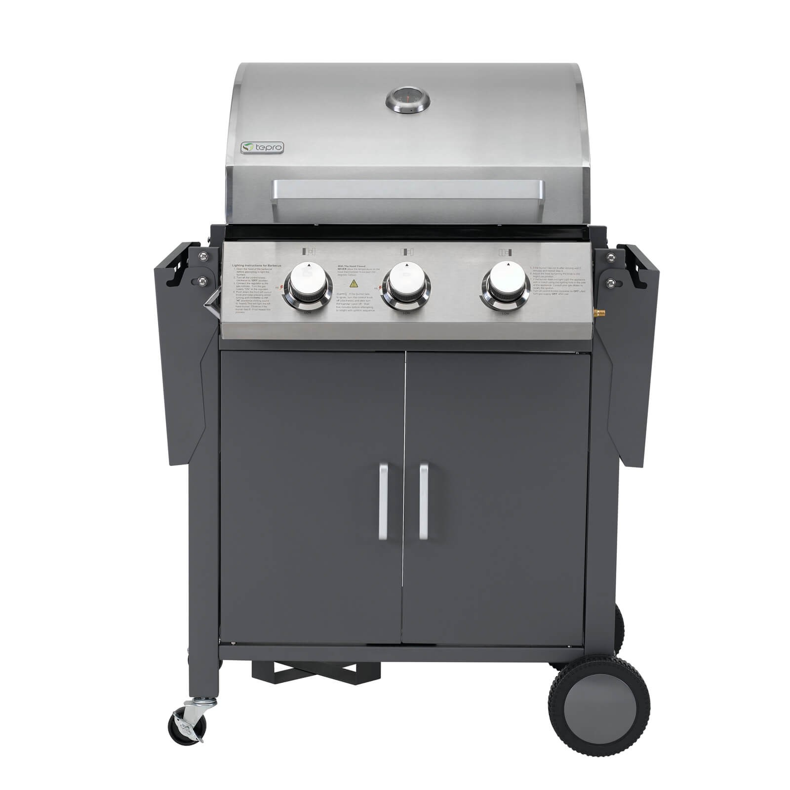 tepro gasgrillwagen barbecue gasgrill westmont. Black Bedroom Furniture Sets. Home Design Ideas
