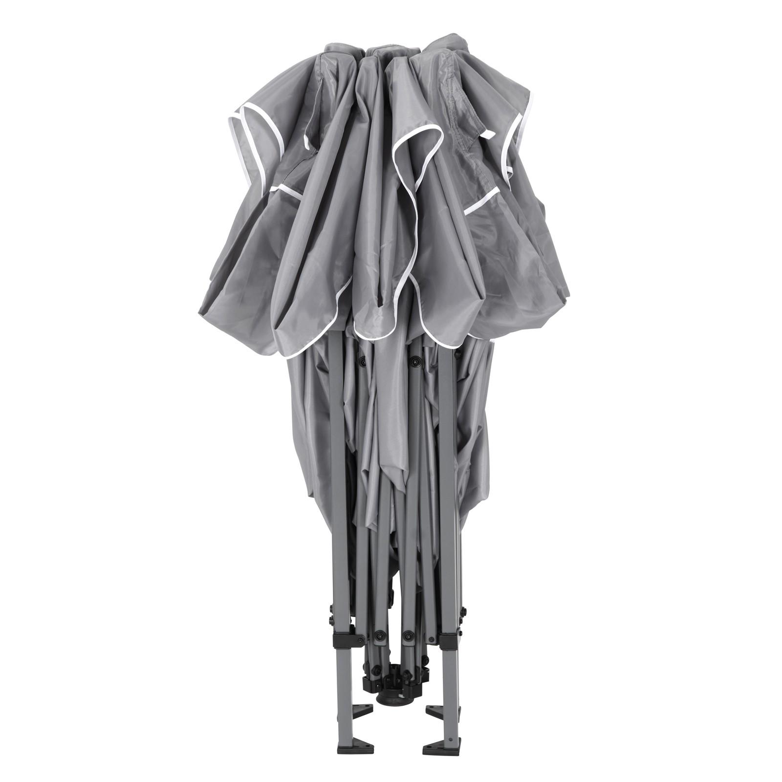 tepro faltpavillon pavillon 3x3 gartenpavillon belize grau partyzelt festzelt 4011964055025 ebay. Black Bedroom Furniture Sets. Home Design Ideas