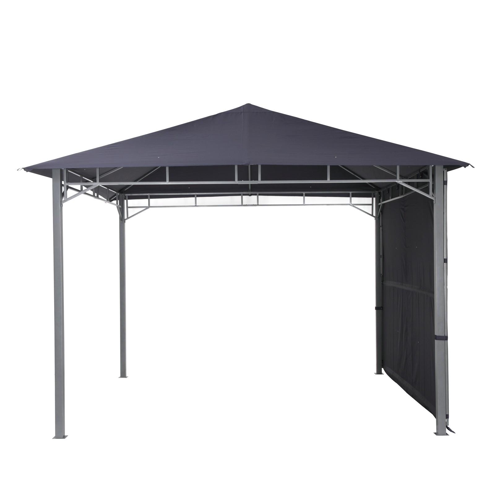 tepro pavillon 3x3 faltpavillon gartenpavillon garten partyzelt lehua dunkelblau ebay. Black Bedroom Furniture Sets. Home Design Ideas