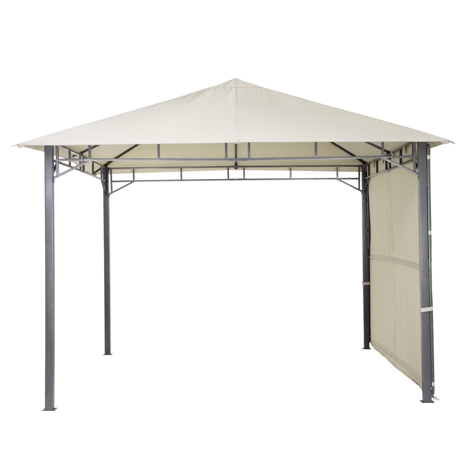 tepro gartenpavillon pavillon 3x3 lehua hellgrau. Black Bedroom Furniture Sets. Home Design Ideas