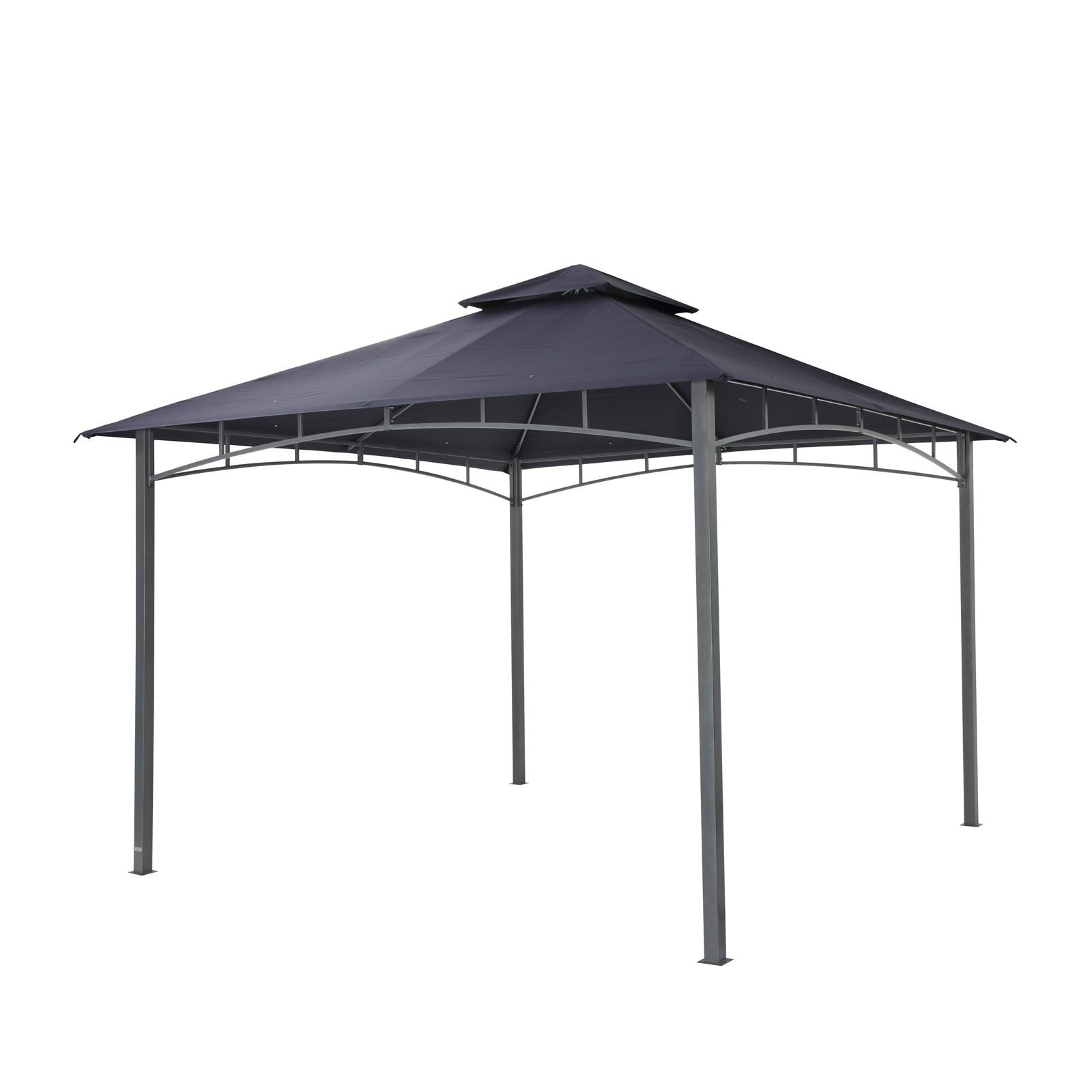 tepro gartenpavillon pavillon 3x3 m waya dunkelblau. Black Bedroom Furniture Sets. Home Design Ideas