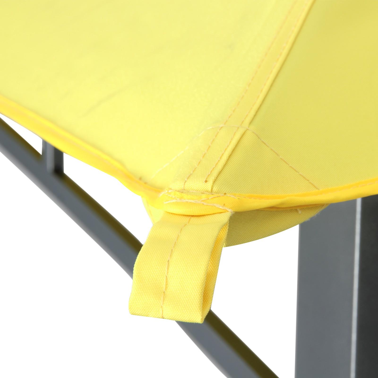 tepro garten pavillon 3x3 m gartenzelt wasserdicht camping partyzelt waya gelb 4011964055292 ebay. Black Bedroom Furniture Sets. Home Design Ideas