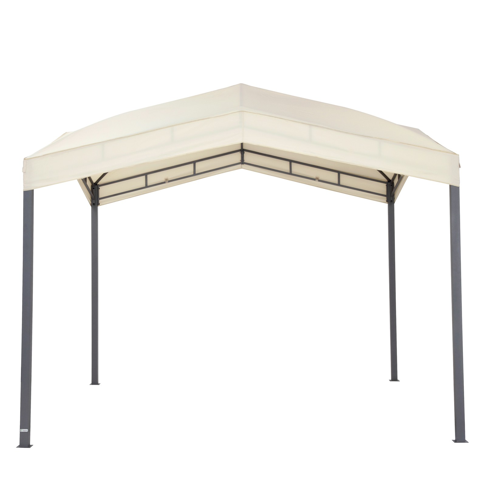 tepro pavillon festzelt 3x3 m gartenpavillon gartenzelt pavillion marabo beige ebay. Black Bedroom Furniture Sets. Home Design Ideas