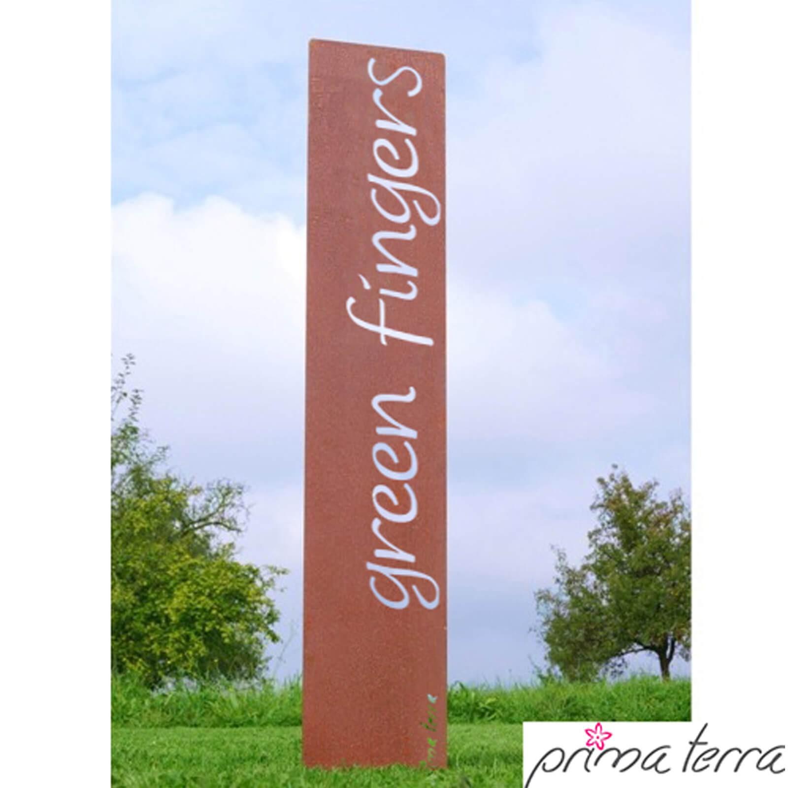 Prima terra edelrost gartendekoration green fingers for Edelrost gartendekoration