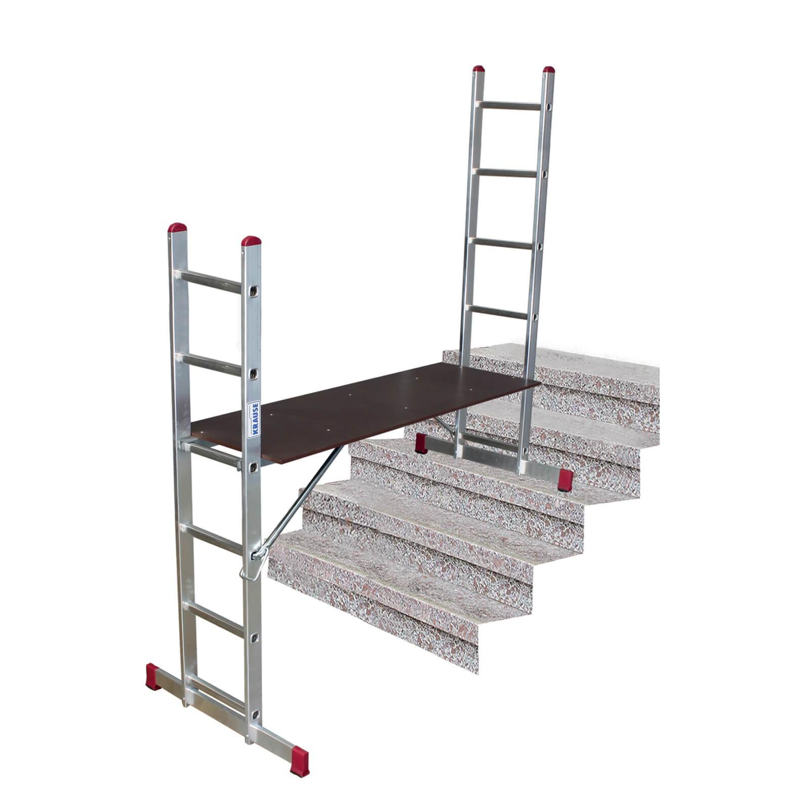 krause corda alu leiter ger st multiger st stehleiter 2x6. Black Bedroom Furniture Sets. Home Design Ideas