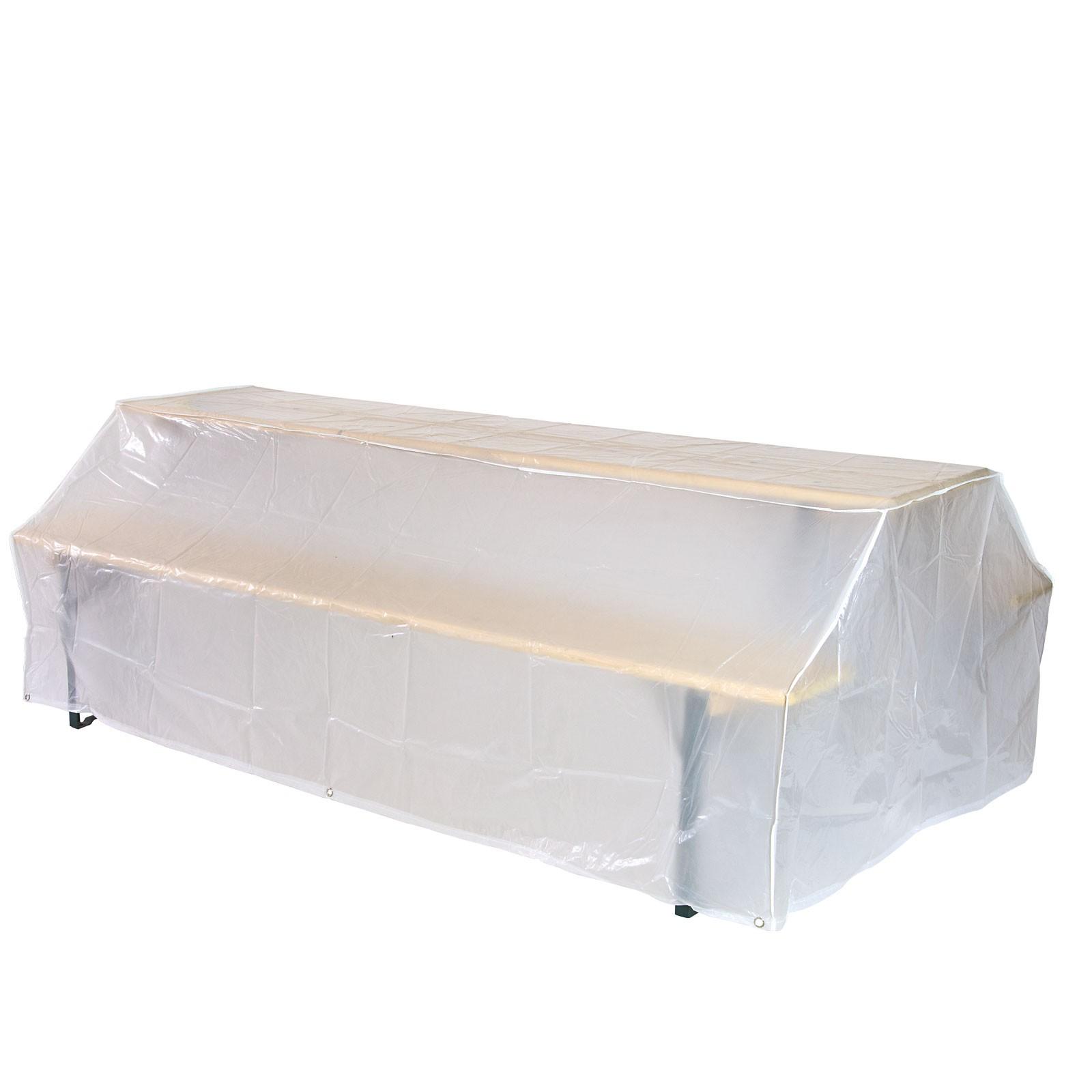 schutzh lle f r bierzeltgarnitur abdeckung 221x121x75 cm abdeckplane bierbank ebay. Black Bedroom Furniture Sets. Home Design Ideas