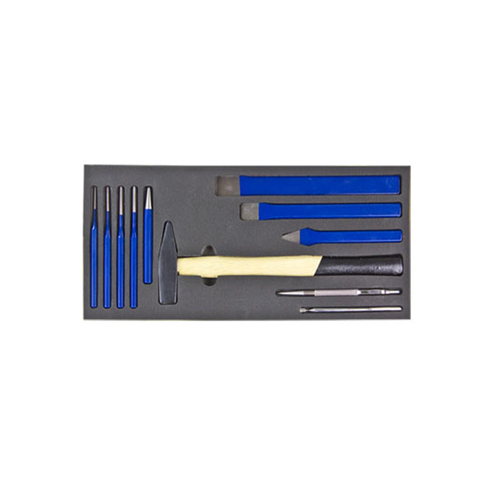 adb werkstattwagen schubladen werkzeug einlage hammer mei el set 11 teilig ebay. Black Bedroom Furniture Sets. Home Design Ideas
