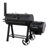 Tepro Holzkohlengrill / Barbecue Smoker Milwaukee Bild 2