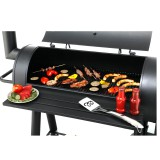 Tepro Holzkohlengrill / Barbecue Smoker Milwaukee Bild 8